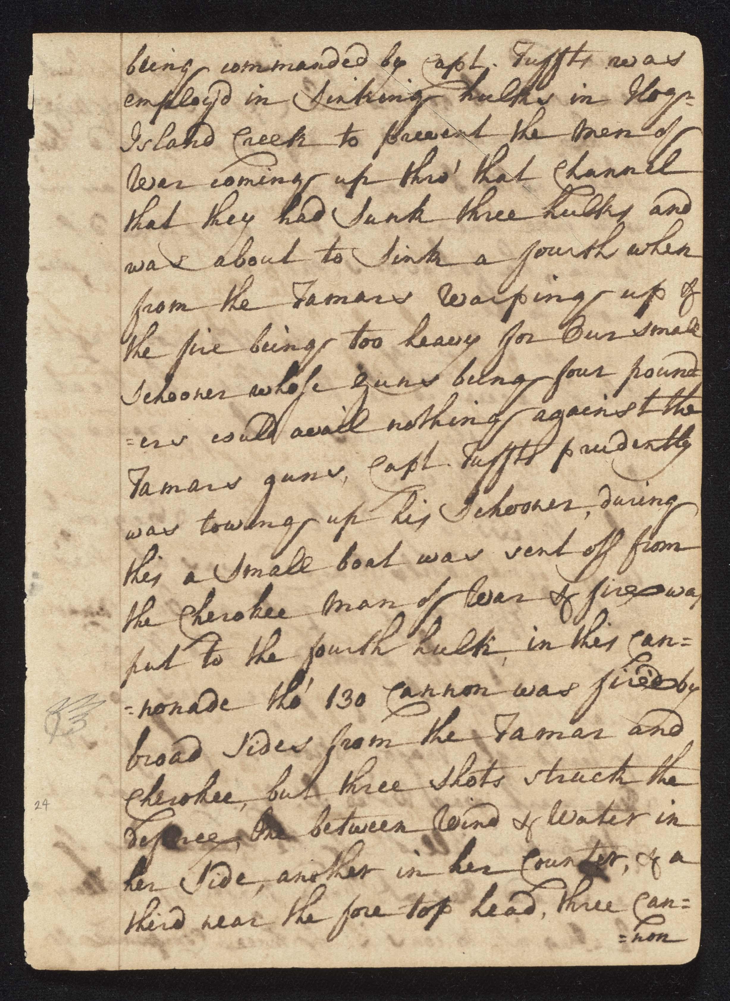 South Carolina Regiment Order Book, Page 47