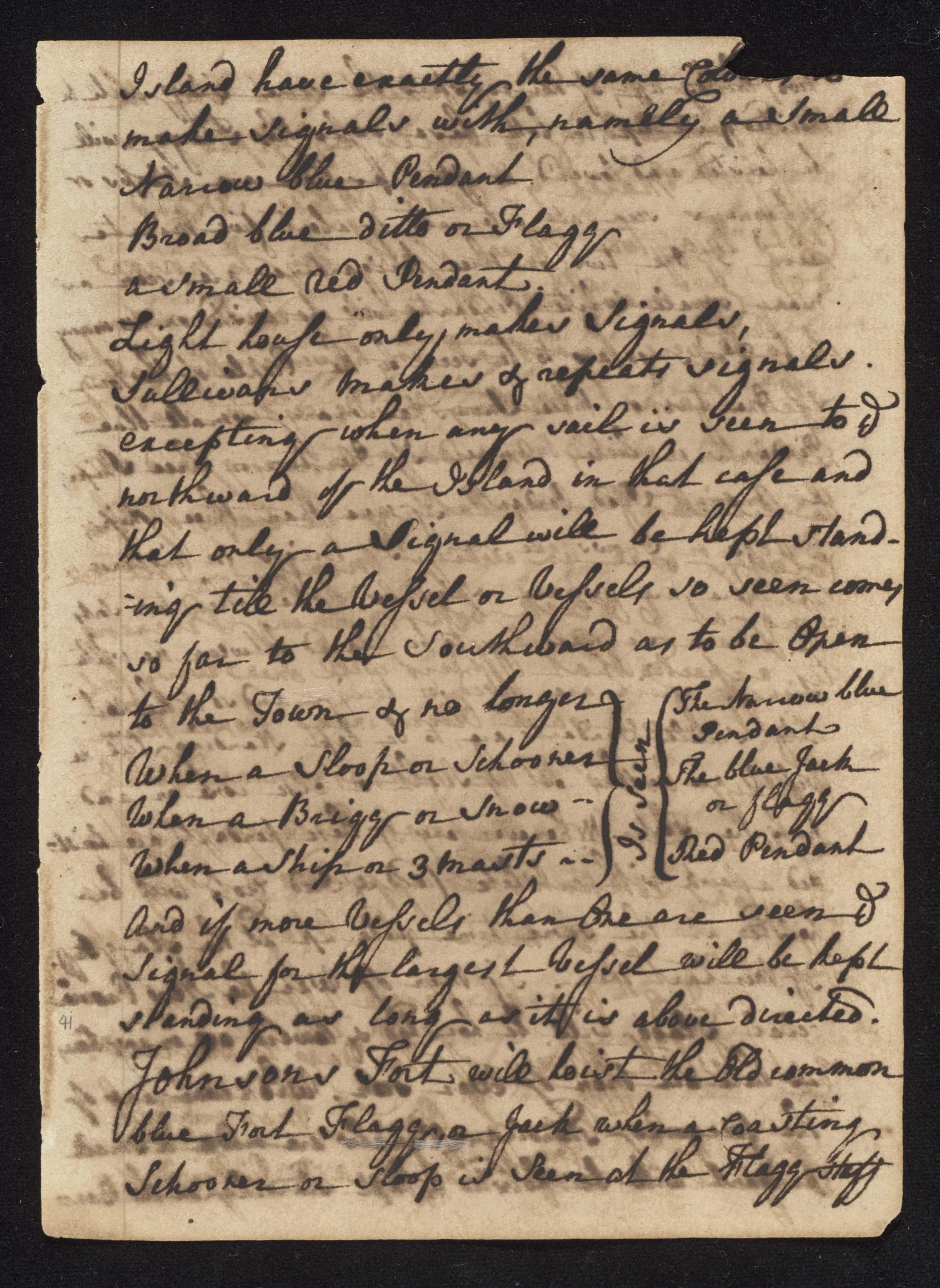 South Carolina Regiment Order Book, Page 81