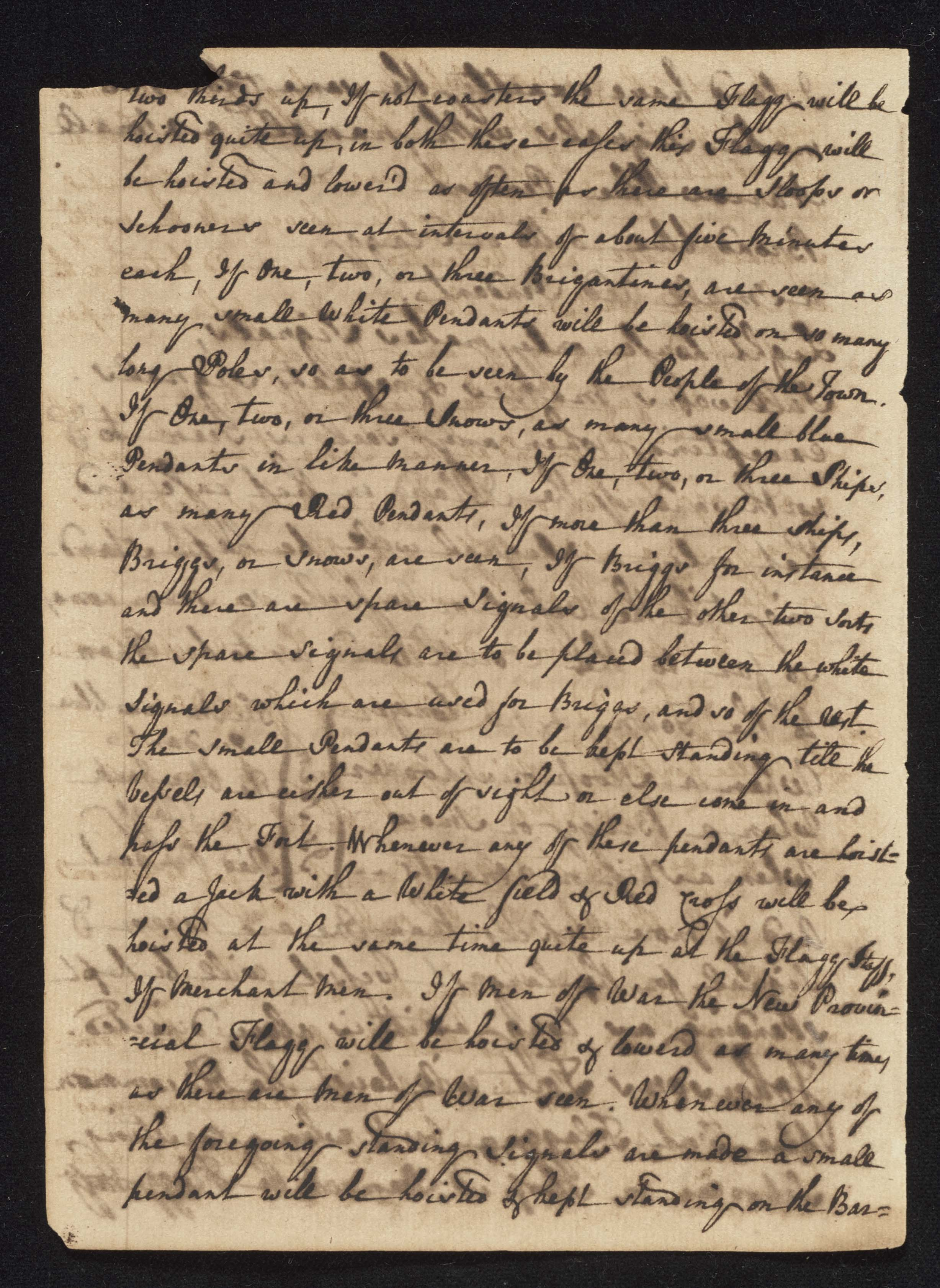 South Carolina Regiment Order Book, Page 82