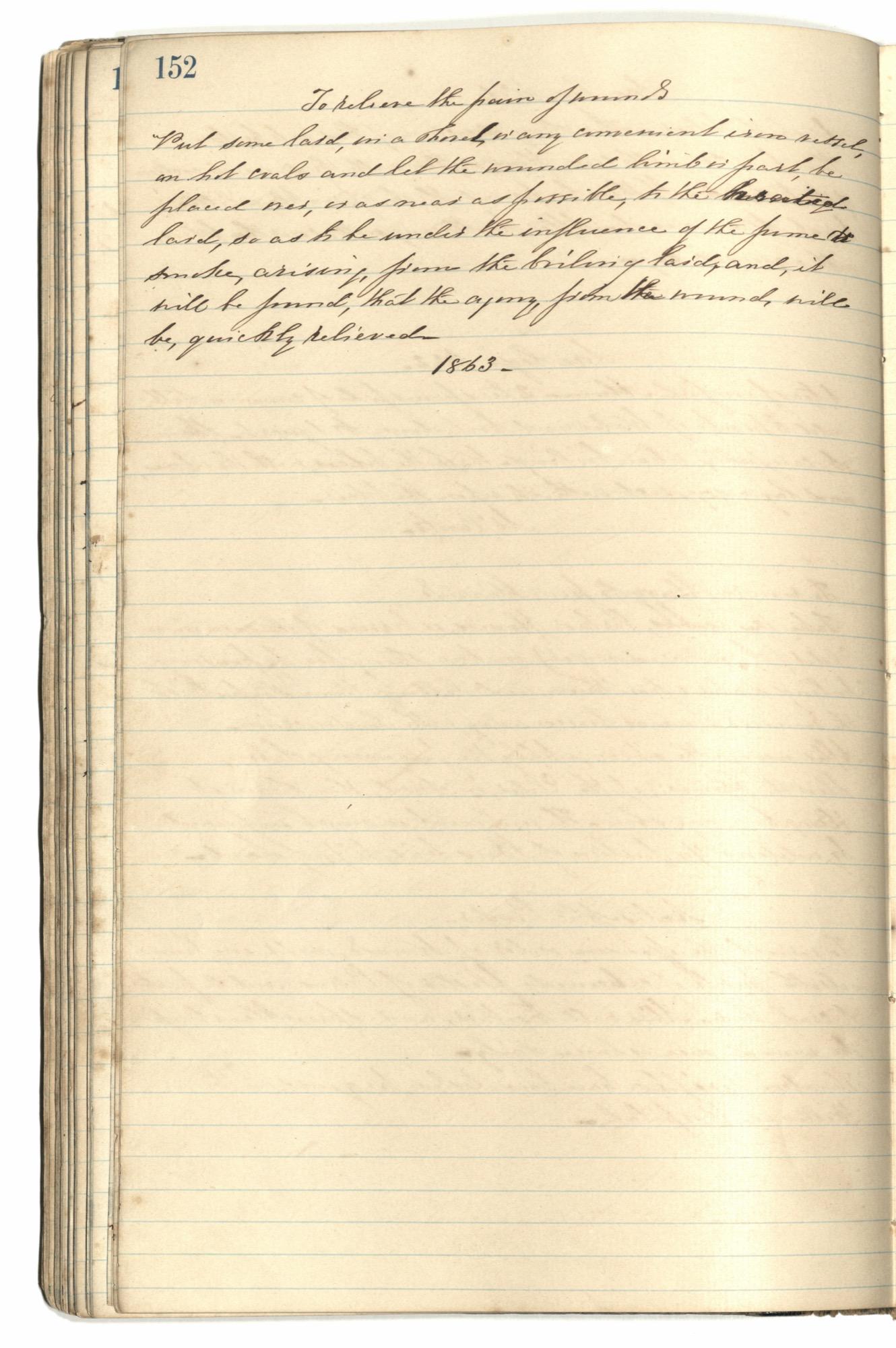 Mary Motte Alston Pringle Receipt Book, Page 137