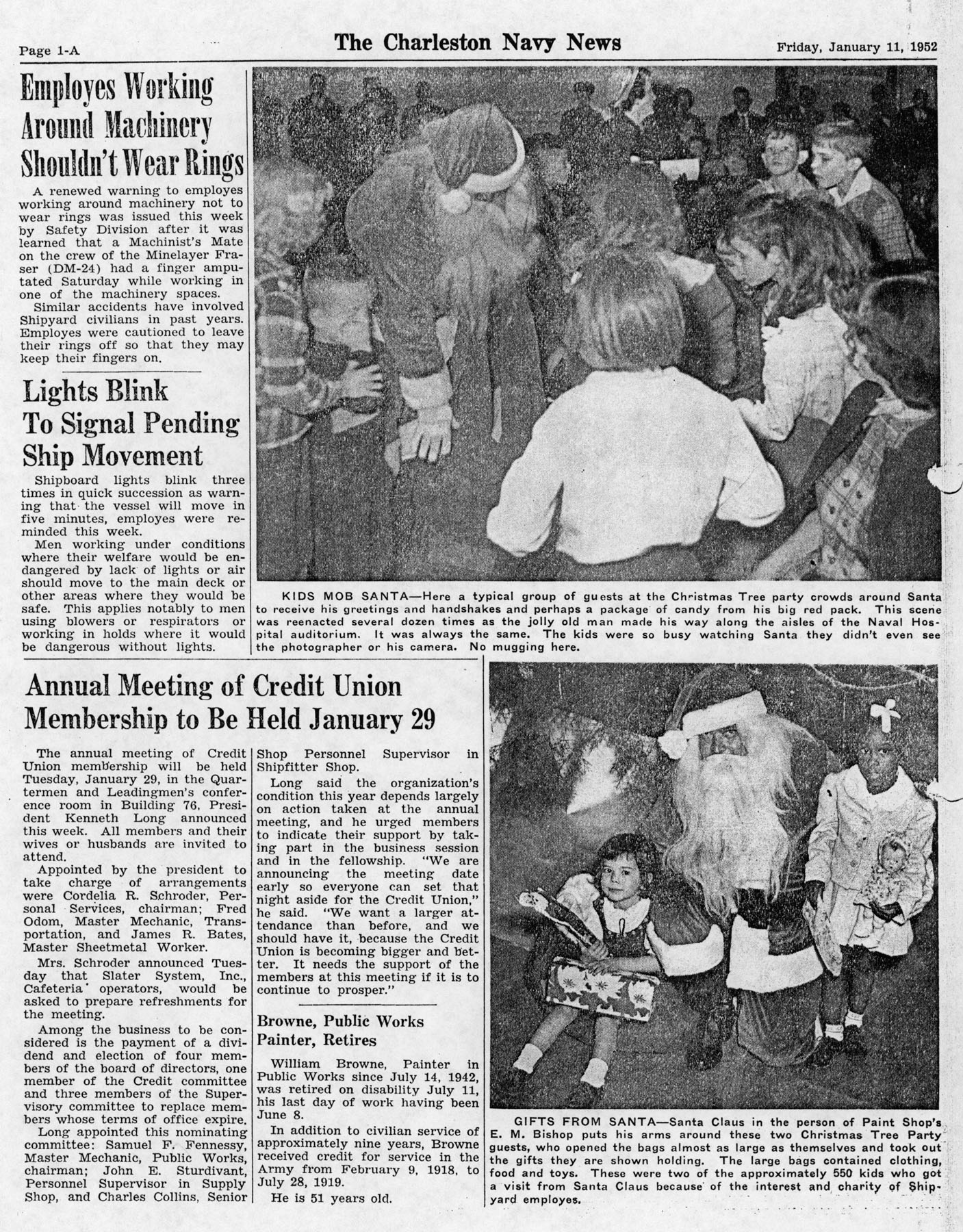 The Charleston Navy News, Volume 10, Edition 12, page ia