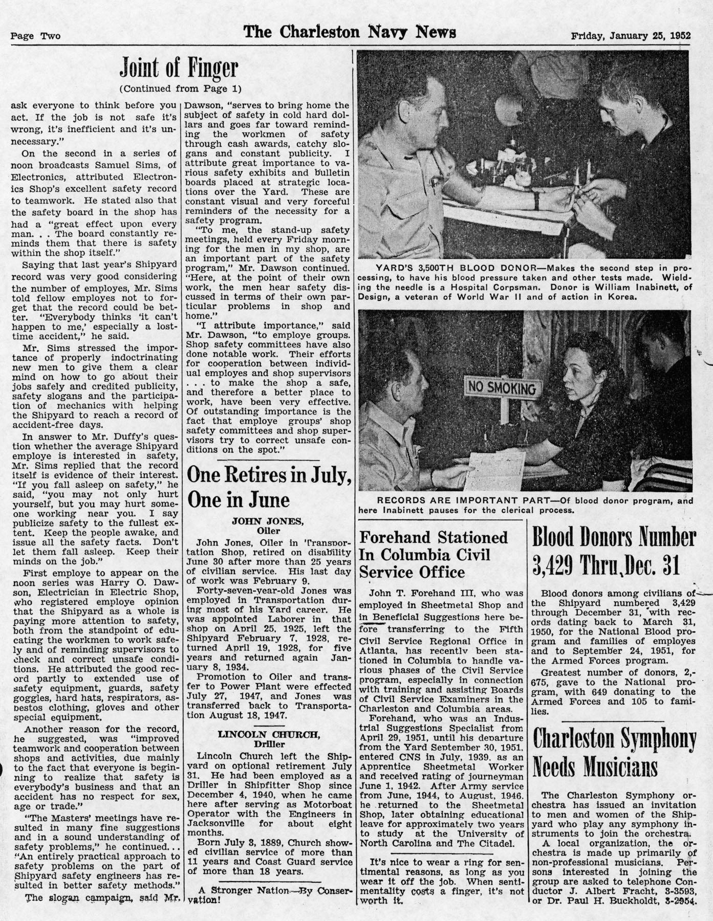 The Charleston Navy News, Volume 10, Edition 13, page ii