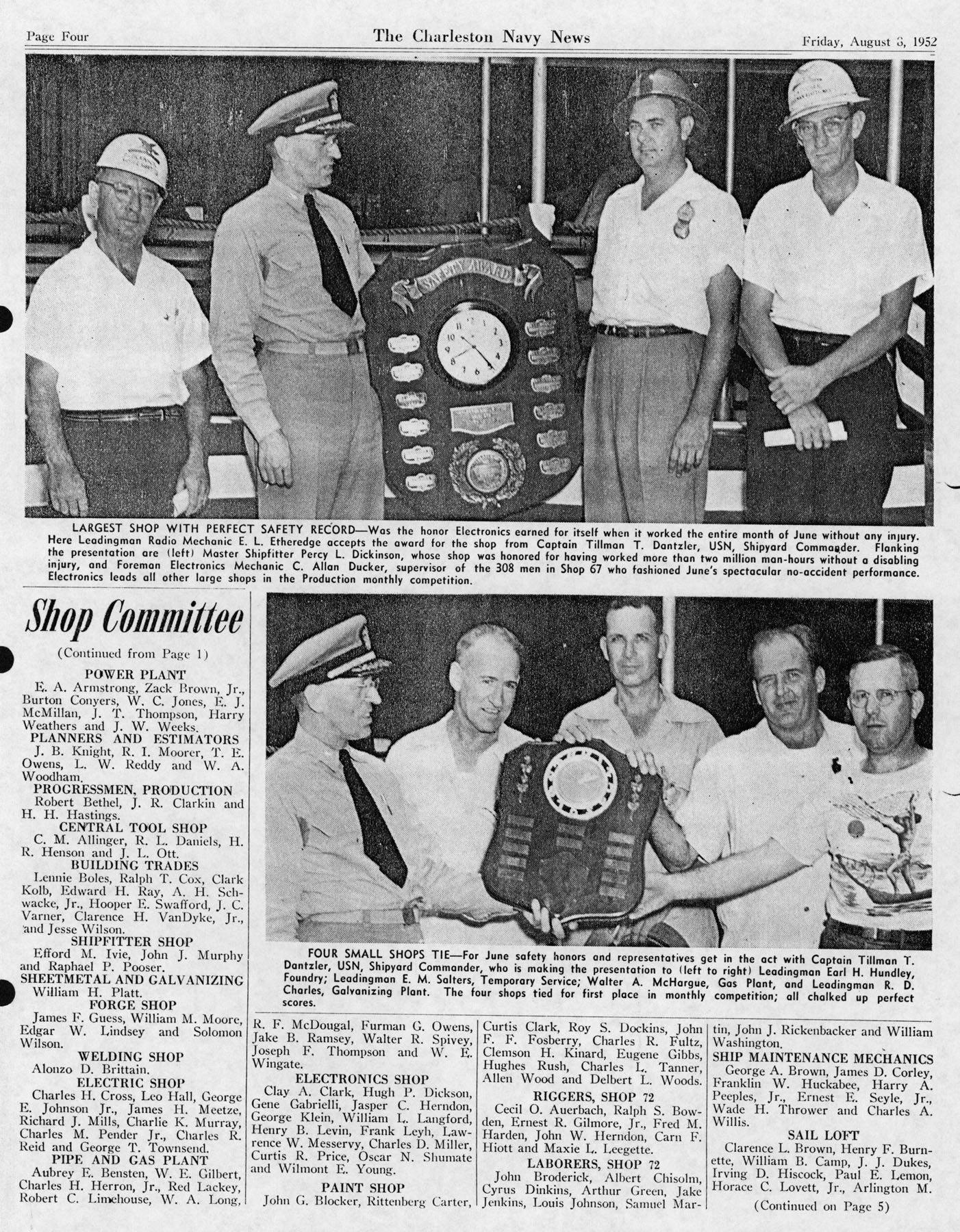 The Charleston Navy News, Volume 11, Edition 1, page iv
