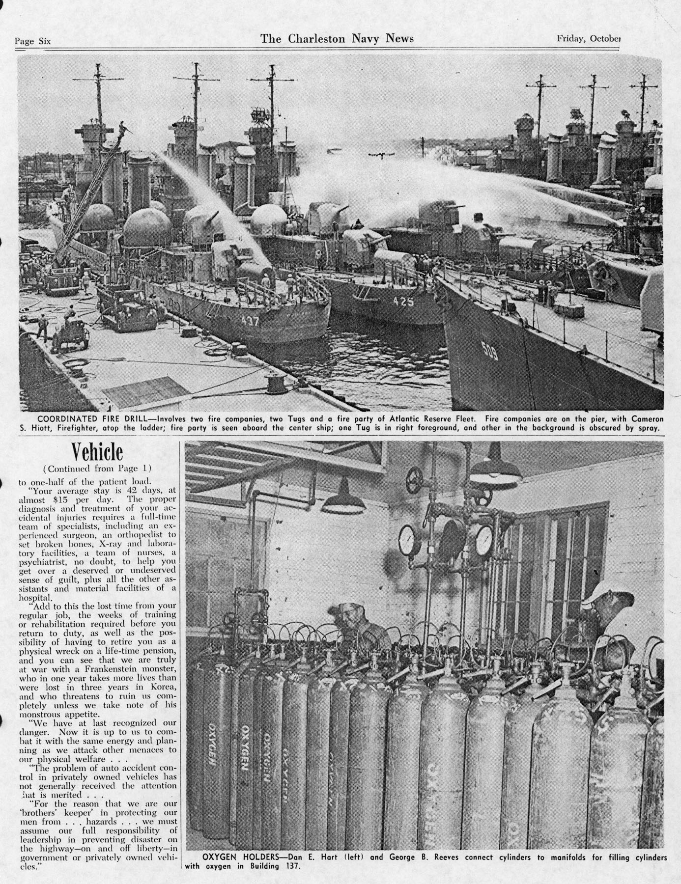 The Charleston Navy News, Volume 12, Edition 7, page vi