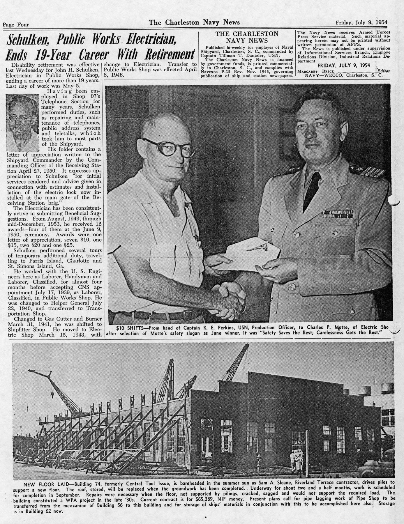 The Charleston Navy News, Volume 13, Edition 1, page iv