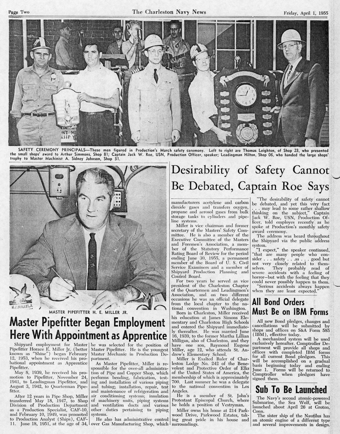 The Charleston Navy News, Volume 13, Edition 19, page ii