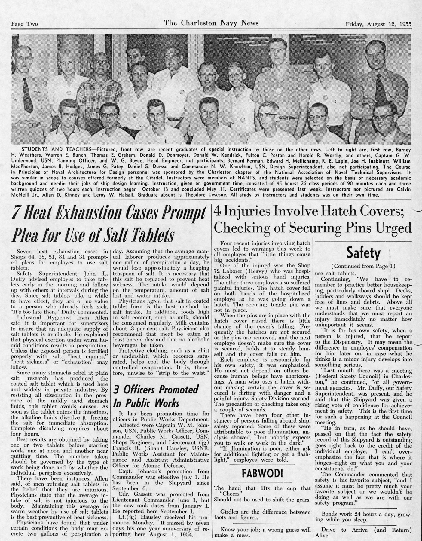 The Charleston Navy News, Volume 14, Edition 2, page ii
