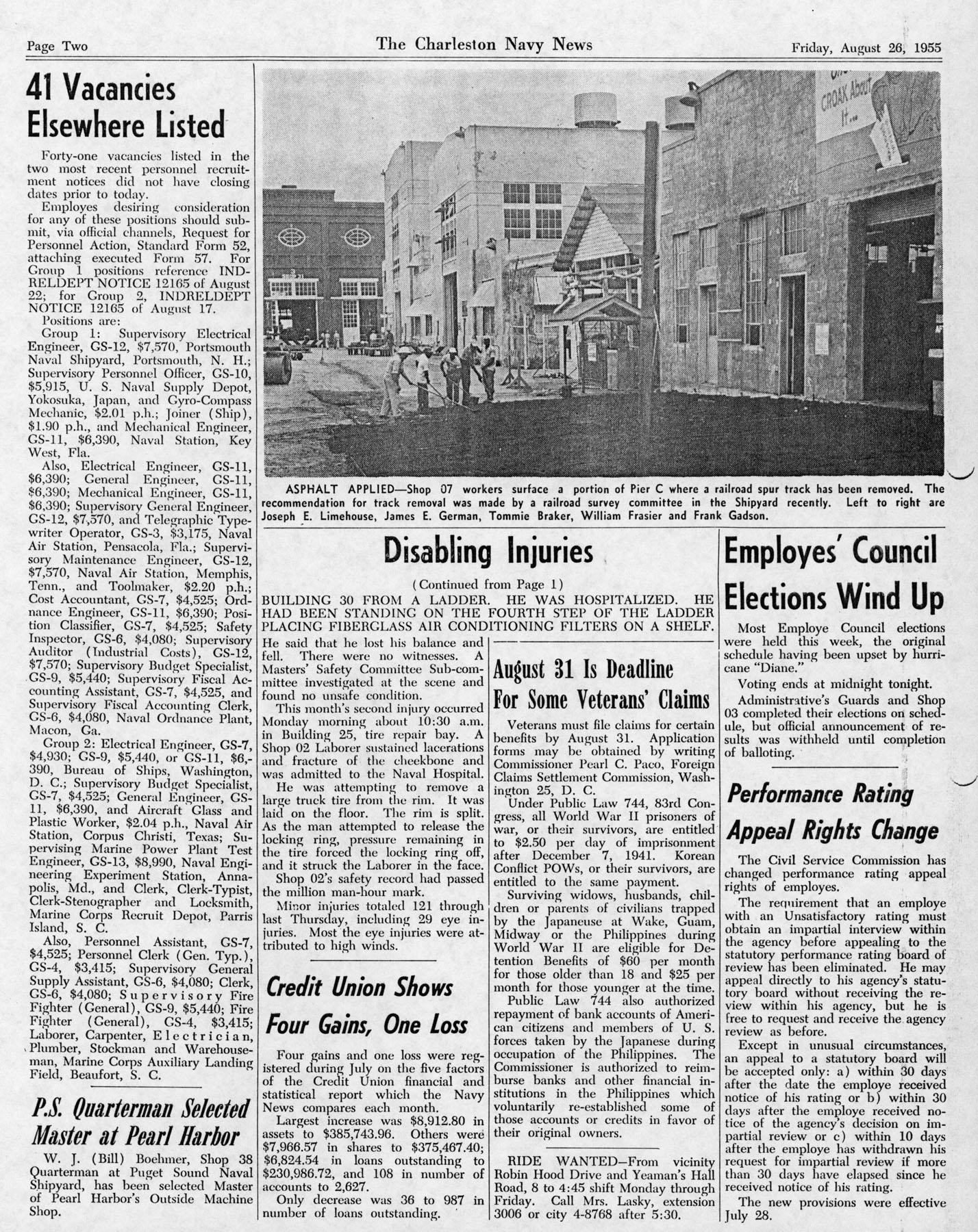The Charleston Navy News, Volume 14, Edition 3, page ii