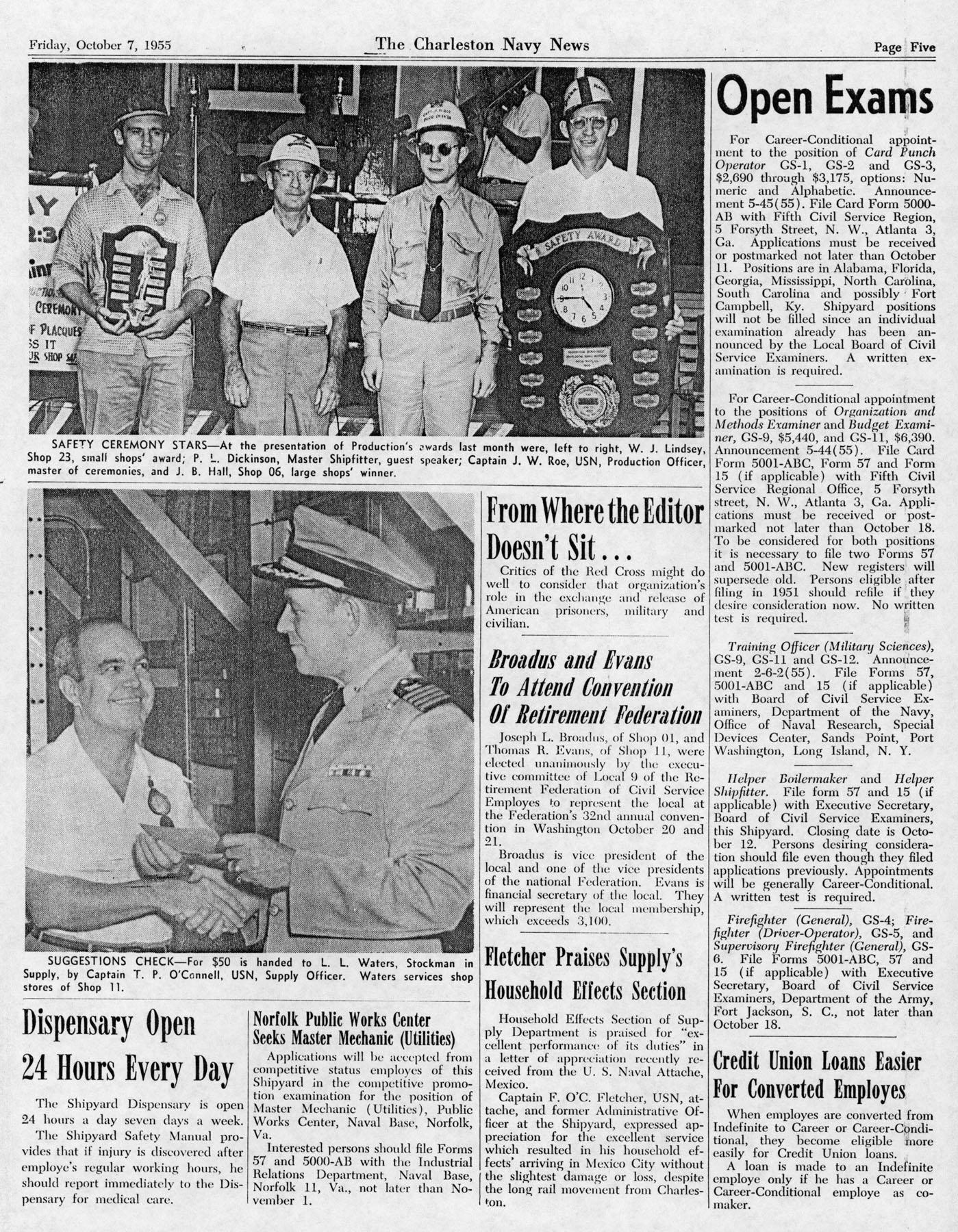 The Charleston Navy News, Volume 14, Edition 6, page v
