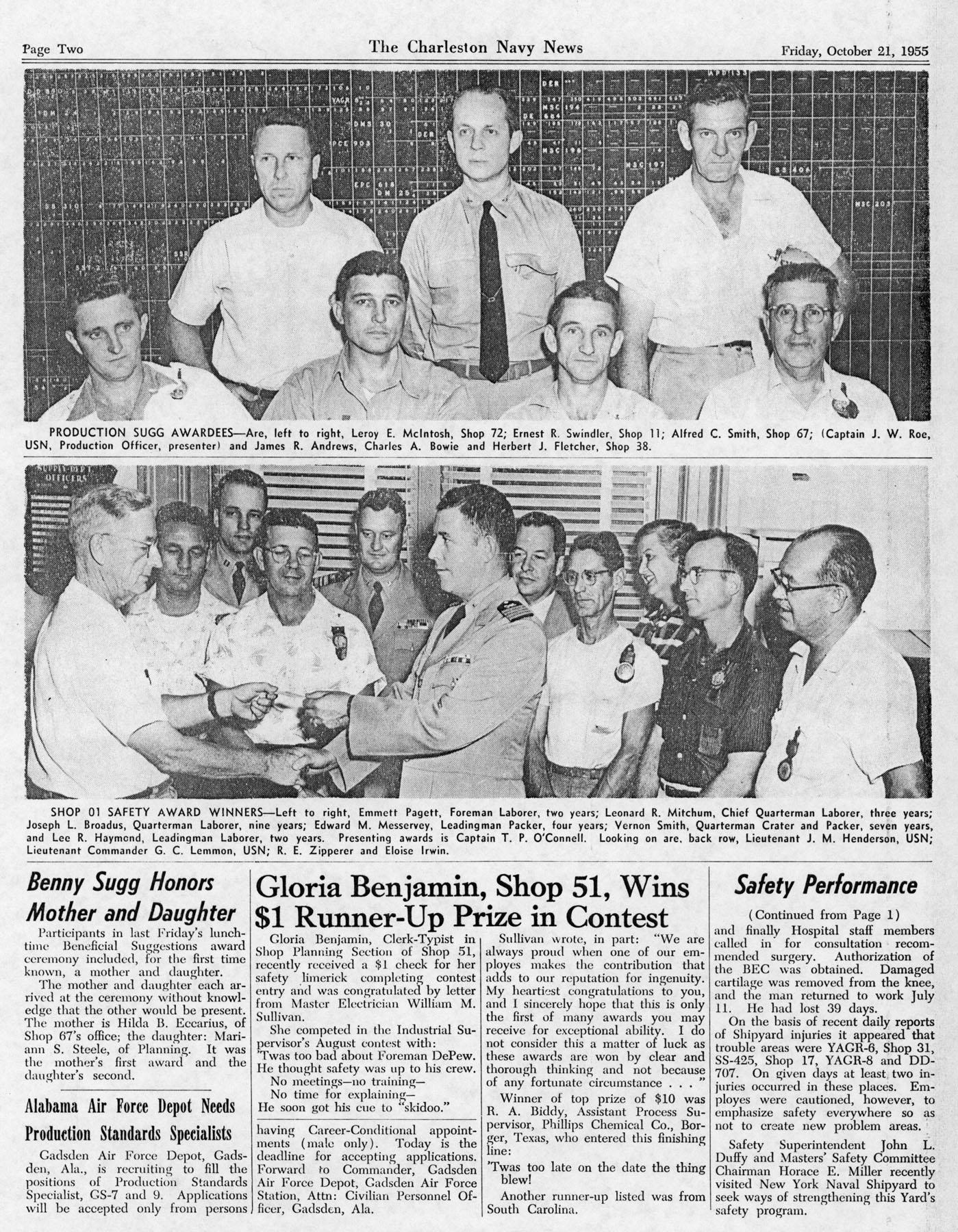 The Charleston Navy News, Volume 14, Edition 7, page ii