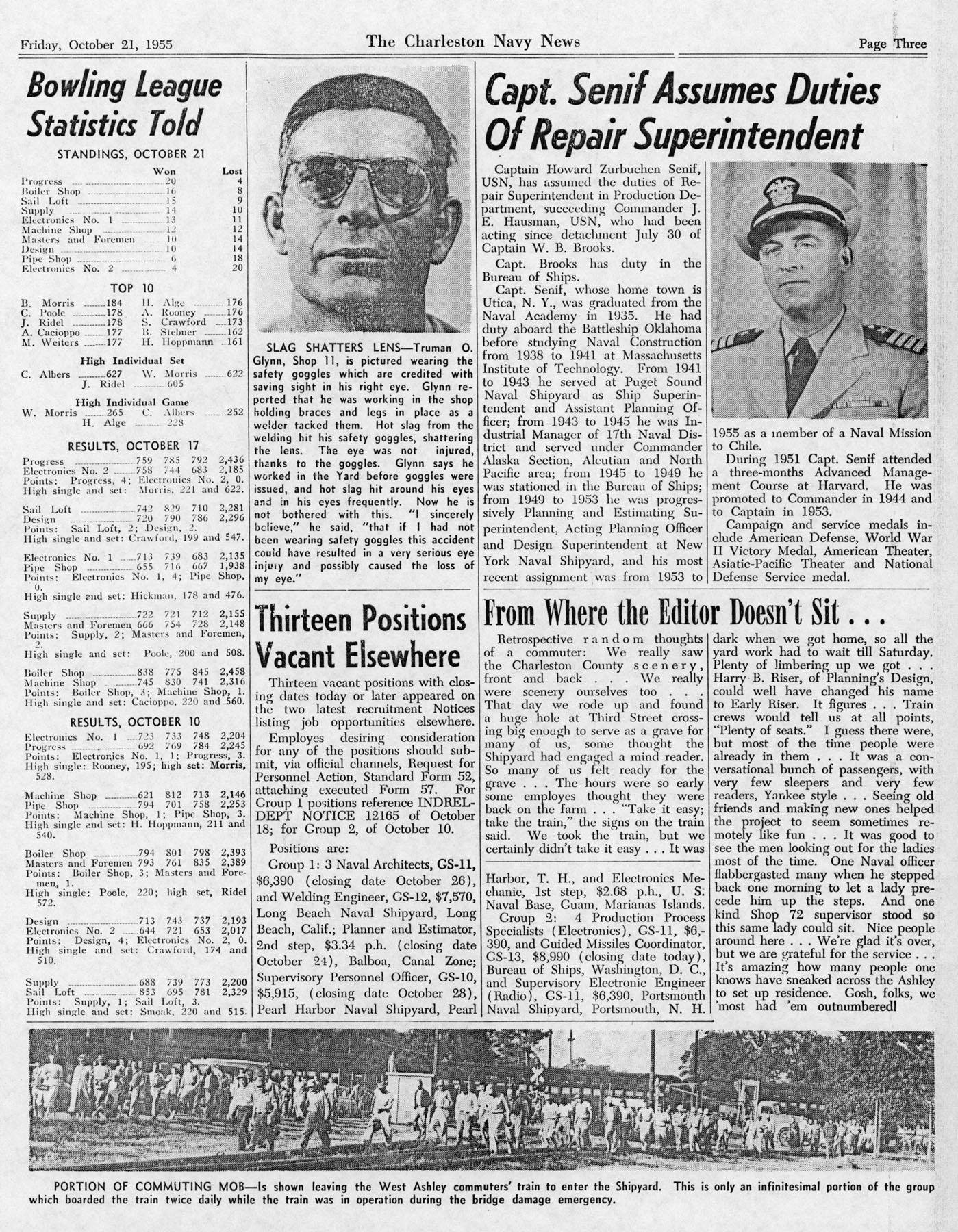 The Charleston Navy News, Volume 14, Edition 7, page iii