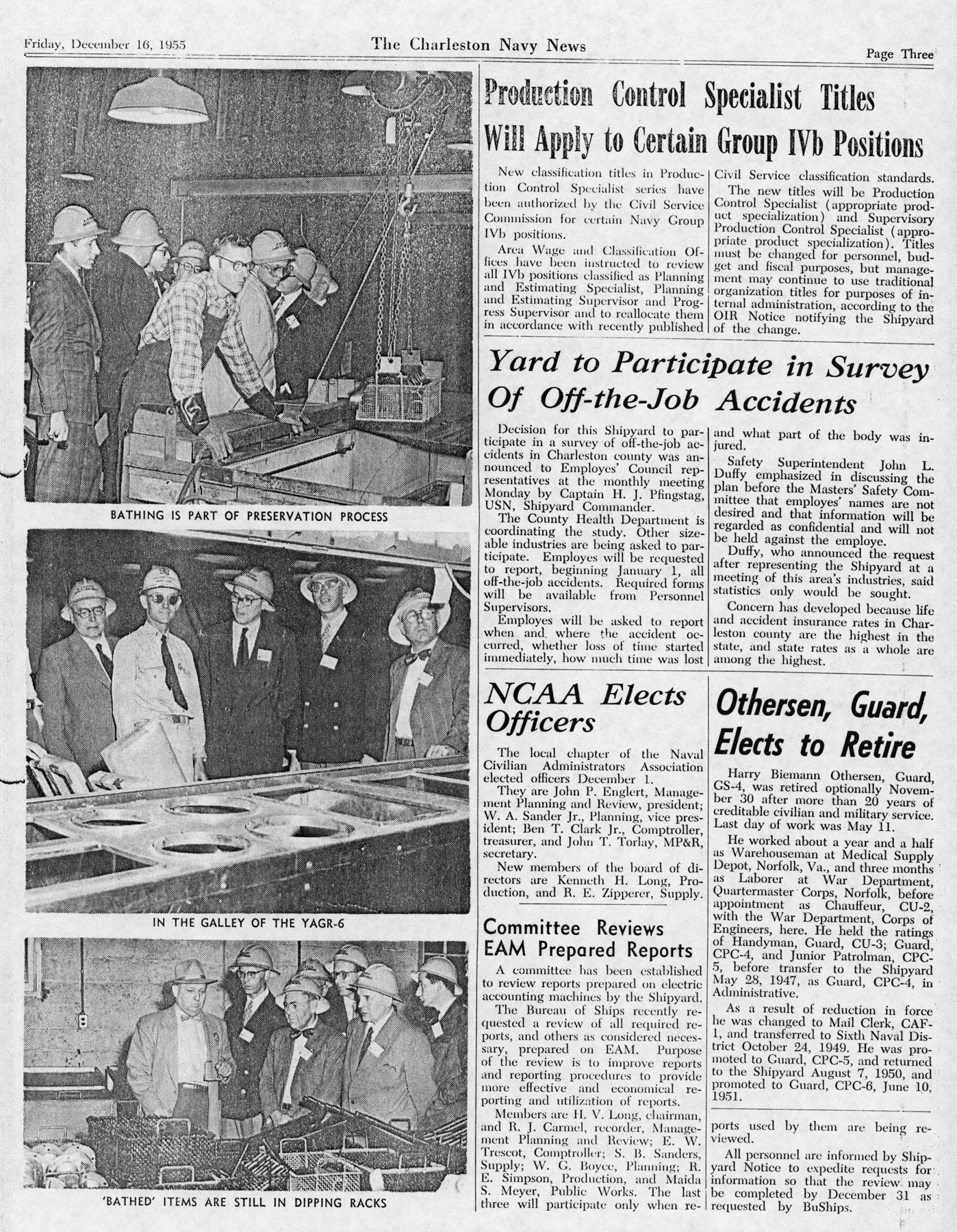 The Charleston Navy News, Volume 14, Edition 11, page iii