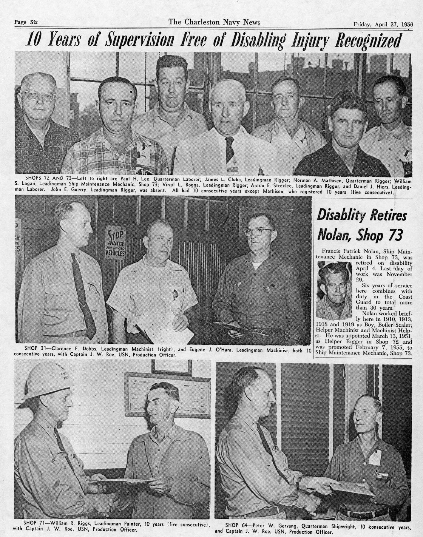 The Charleston Navy News, Volume 14, Edition 20, page vi