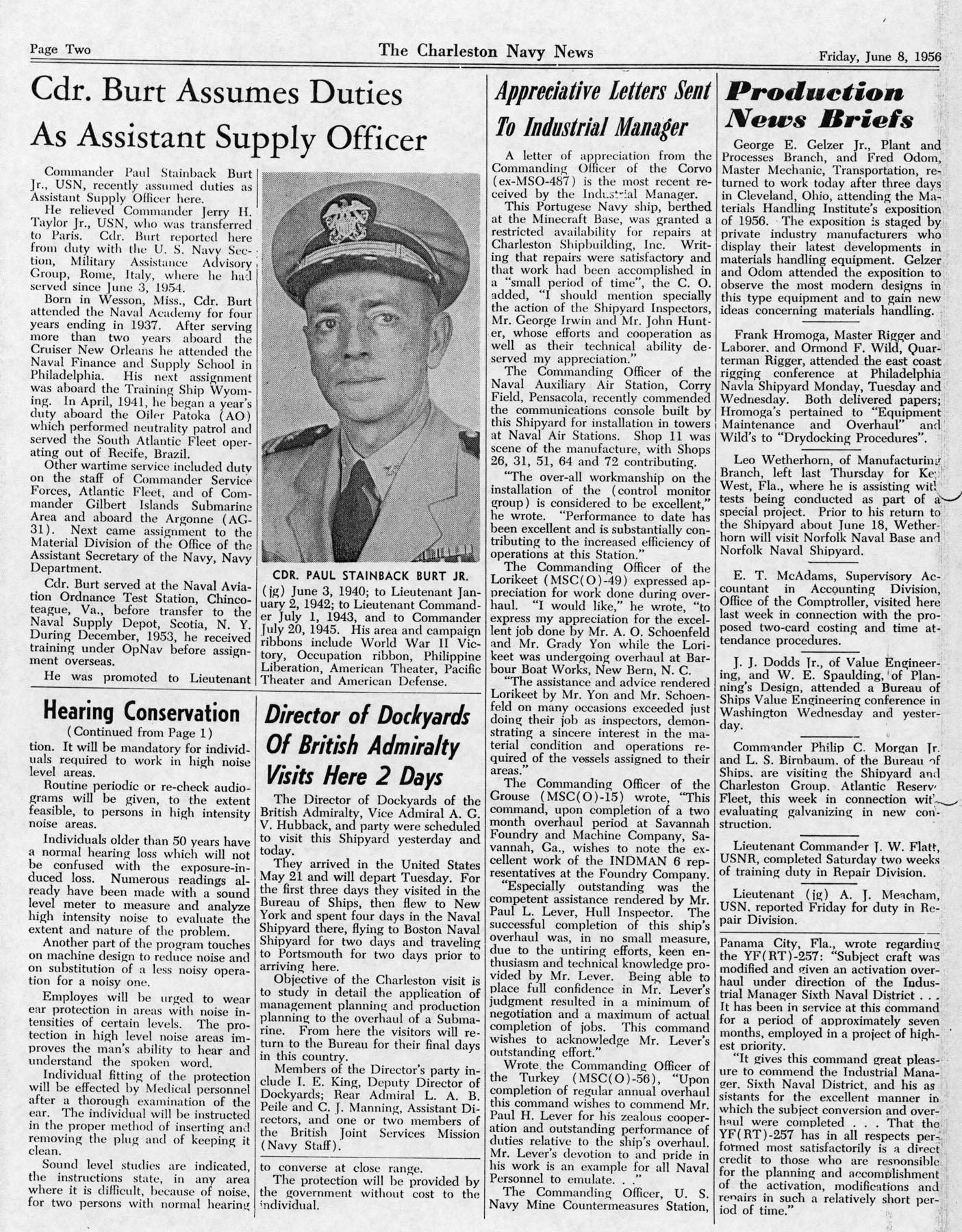 The Charleston Navy News, Volume 14, Edition 23, page ii