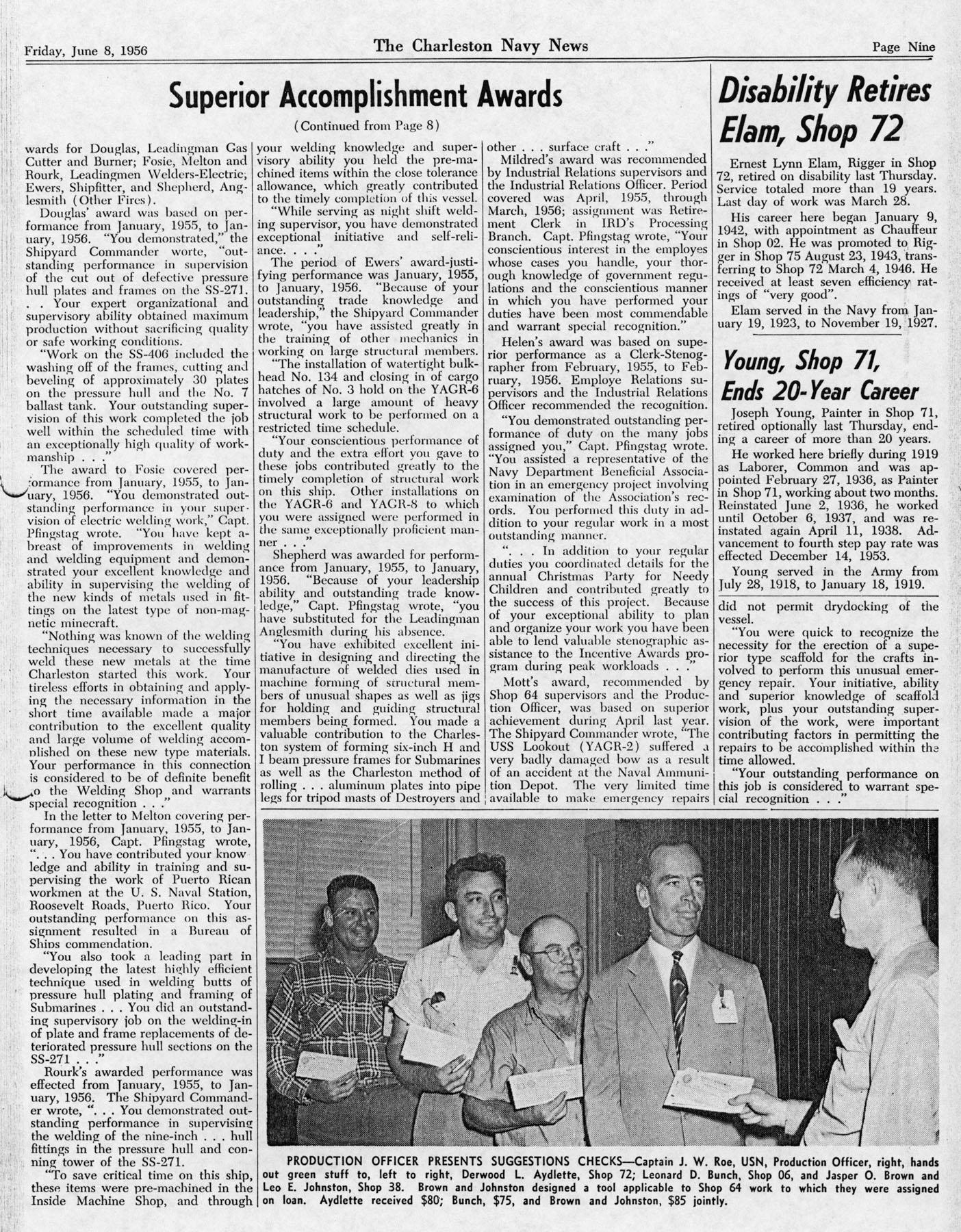 The Charleston Navy News, Volume 14, Edition 23, page ix