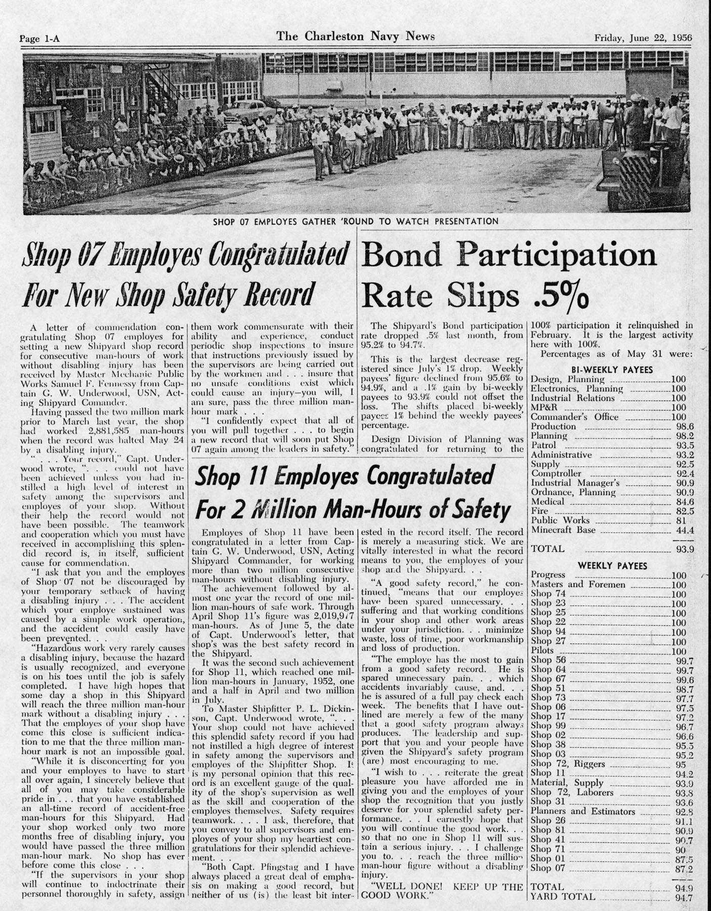 The Charleston Navy News, Volume 14, Edition 24, page ia