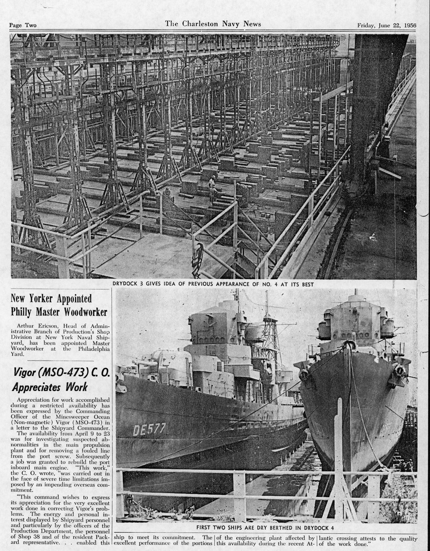 The Charleston Navy News, Volume 14, Edition 24, page ii