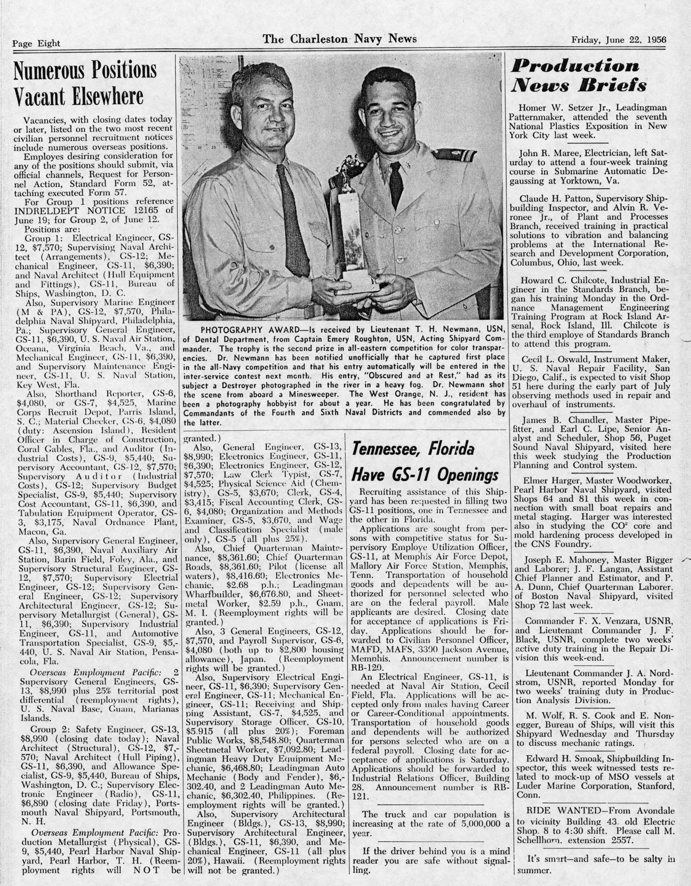 The Charleston Navy News, Volume 14, Edition 24, page viii