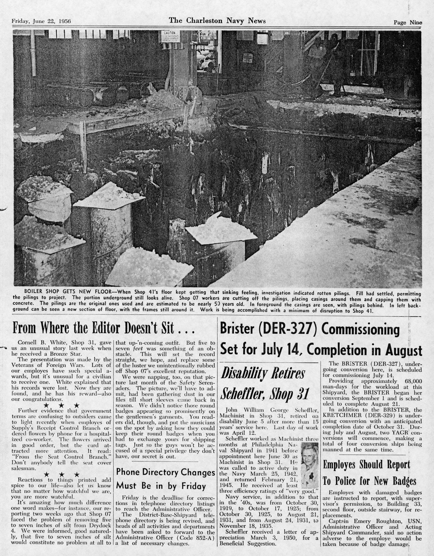 The Charleston Navy News, Volume 14, Edition 24, page ix