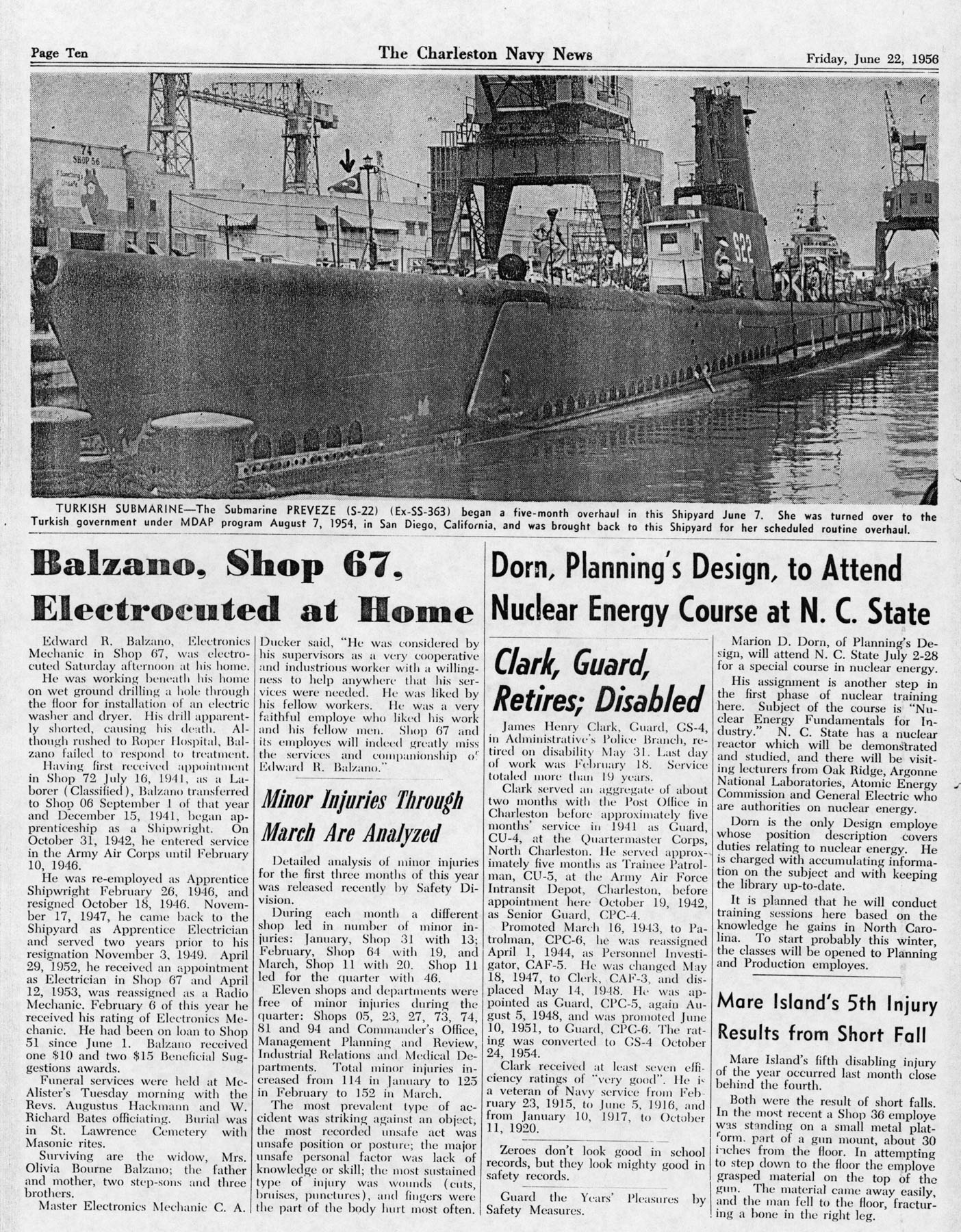 The Charleston Navy News, Volume 14, Edition 24, page x