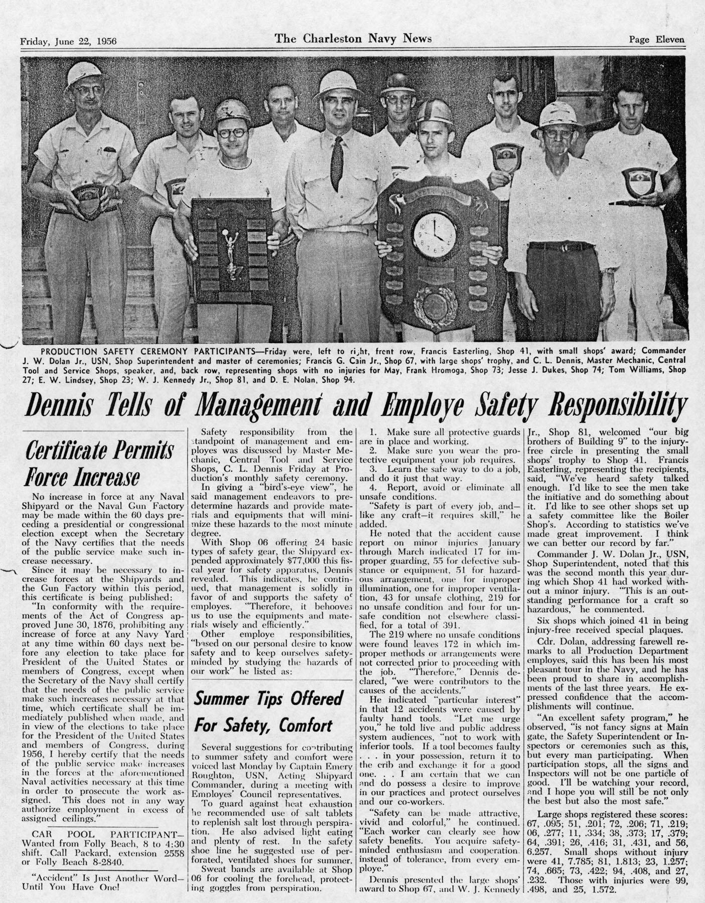 The Charleston Navy News, Volume 14, Edition 24, page xi