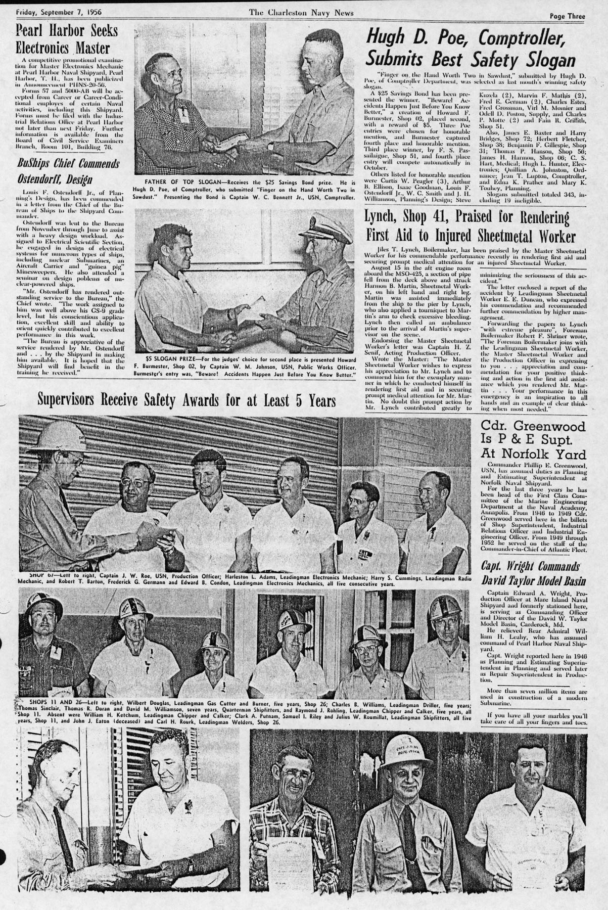 The Charleston Navy News, Volume 15, Edition 4, page iii