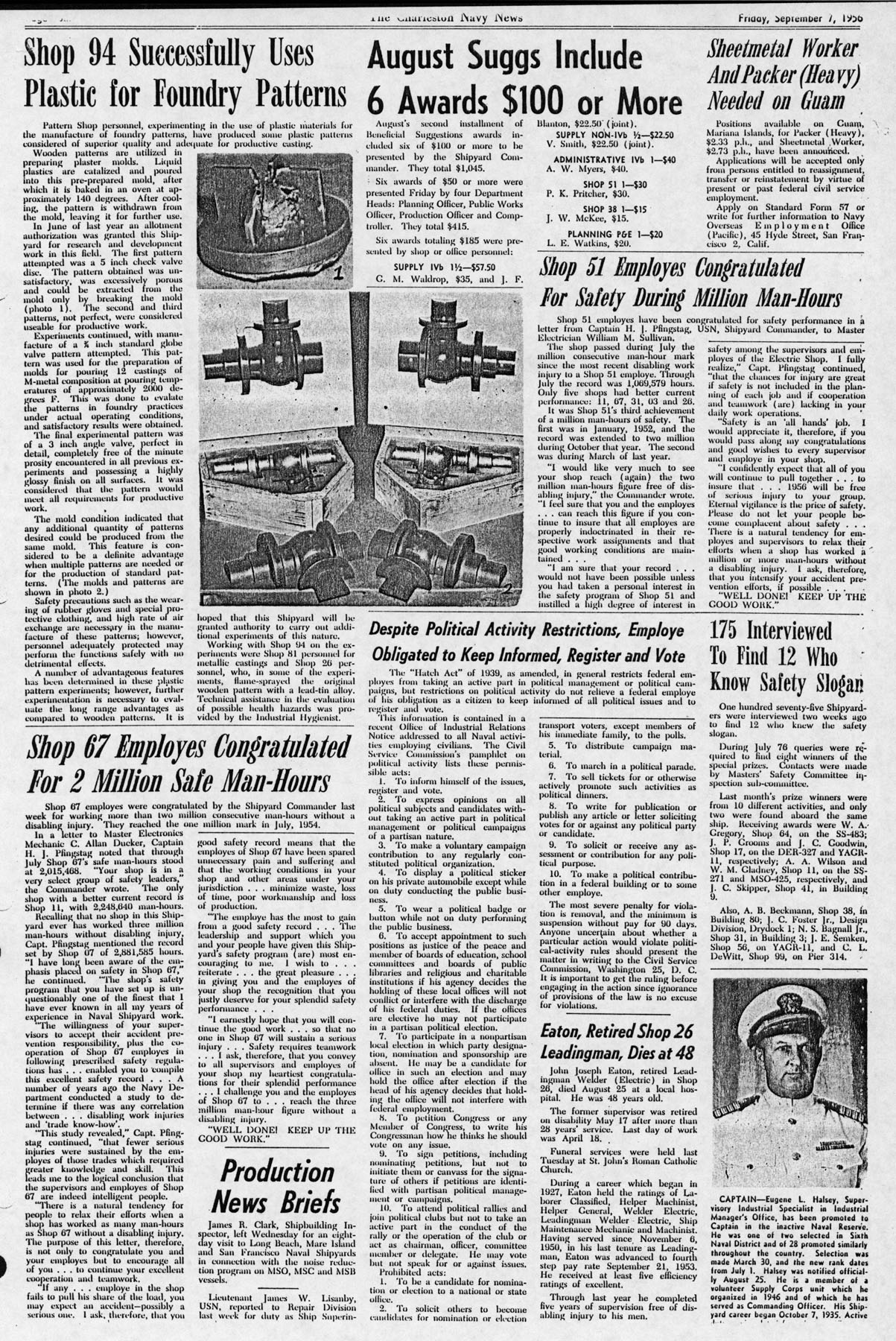 The Charleston Navy News, Volume 15, Edition 4, page iv