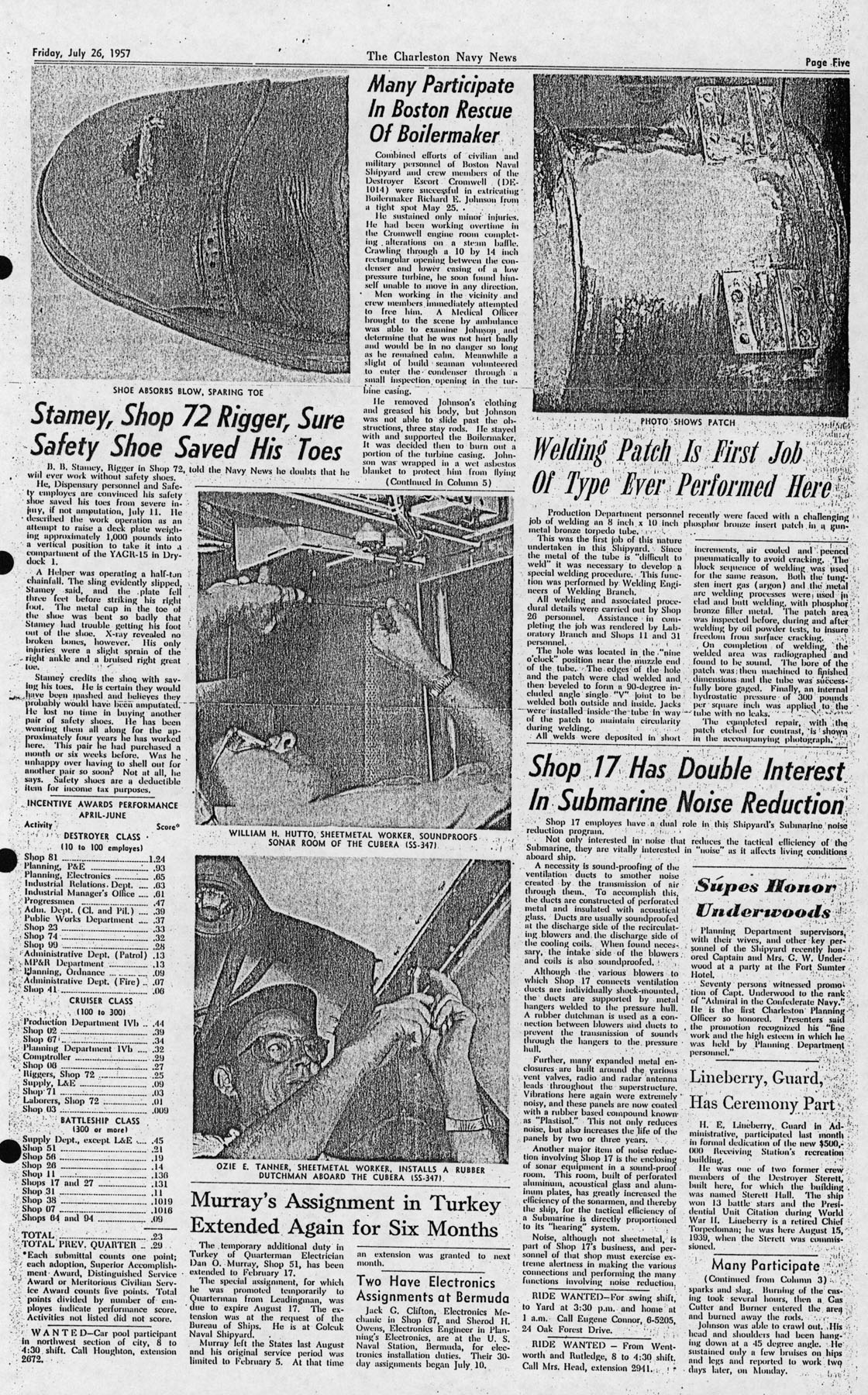 The Charleston Navy News, Volume 16, Edition 1, page v