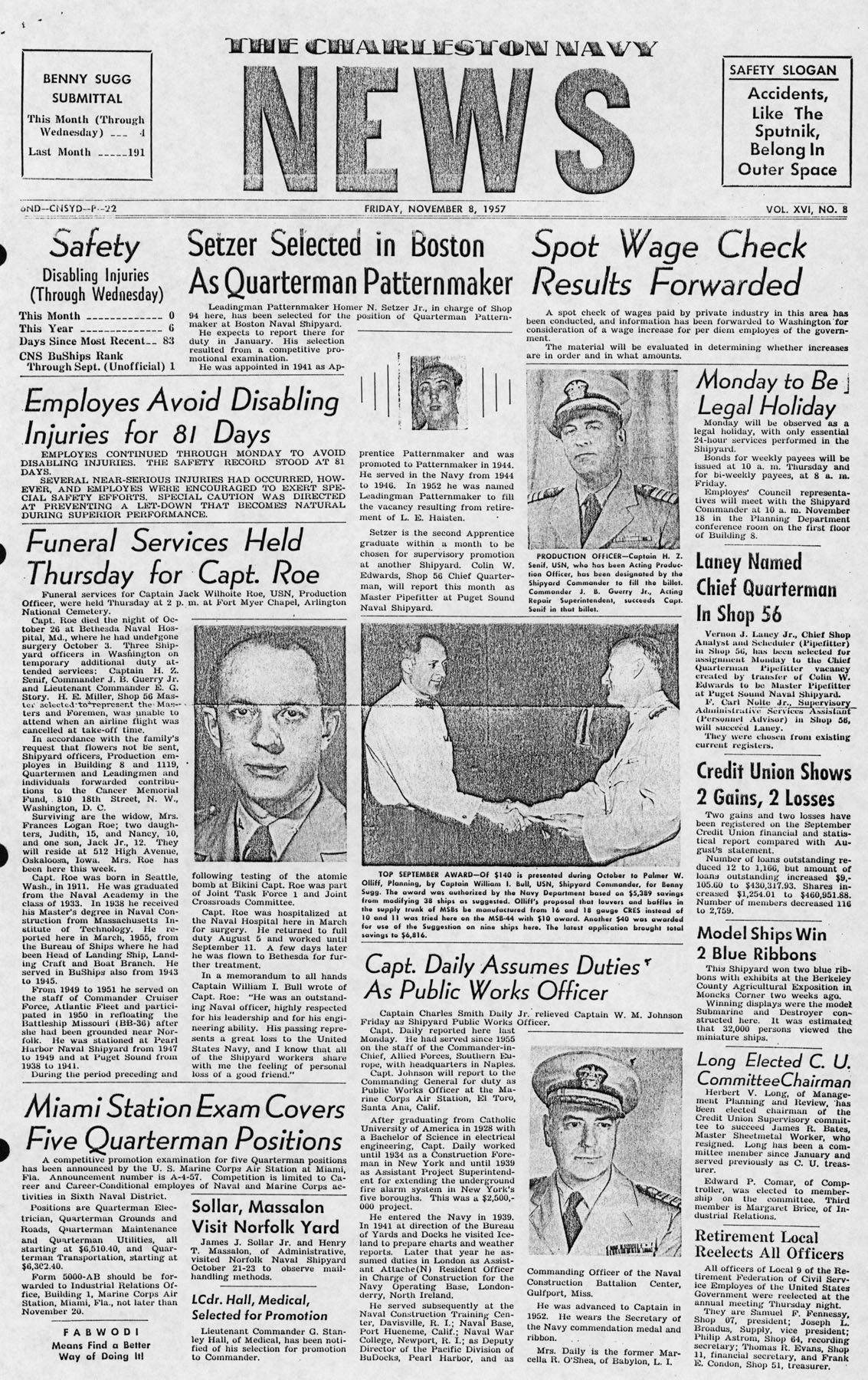 The Charleston Navy News, Volume 16, Edition 8, page i