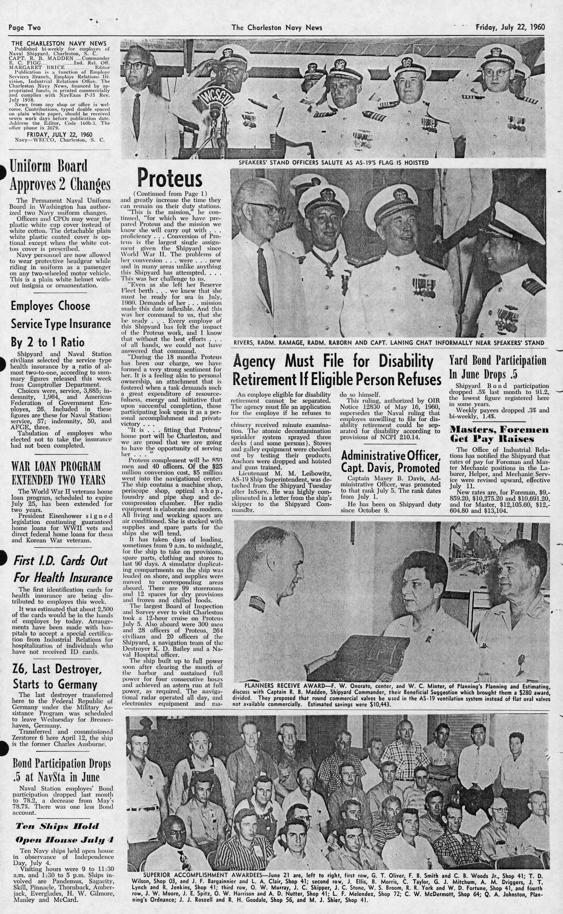 The Charleston Navy News, Volume 19, Edition 1, page ii