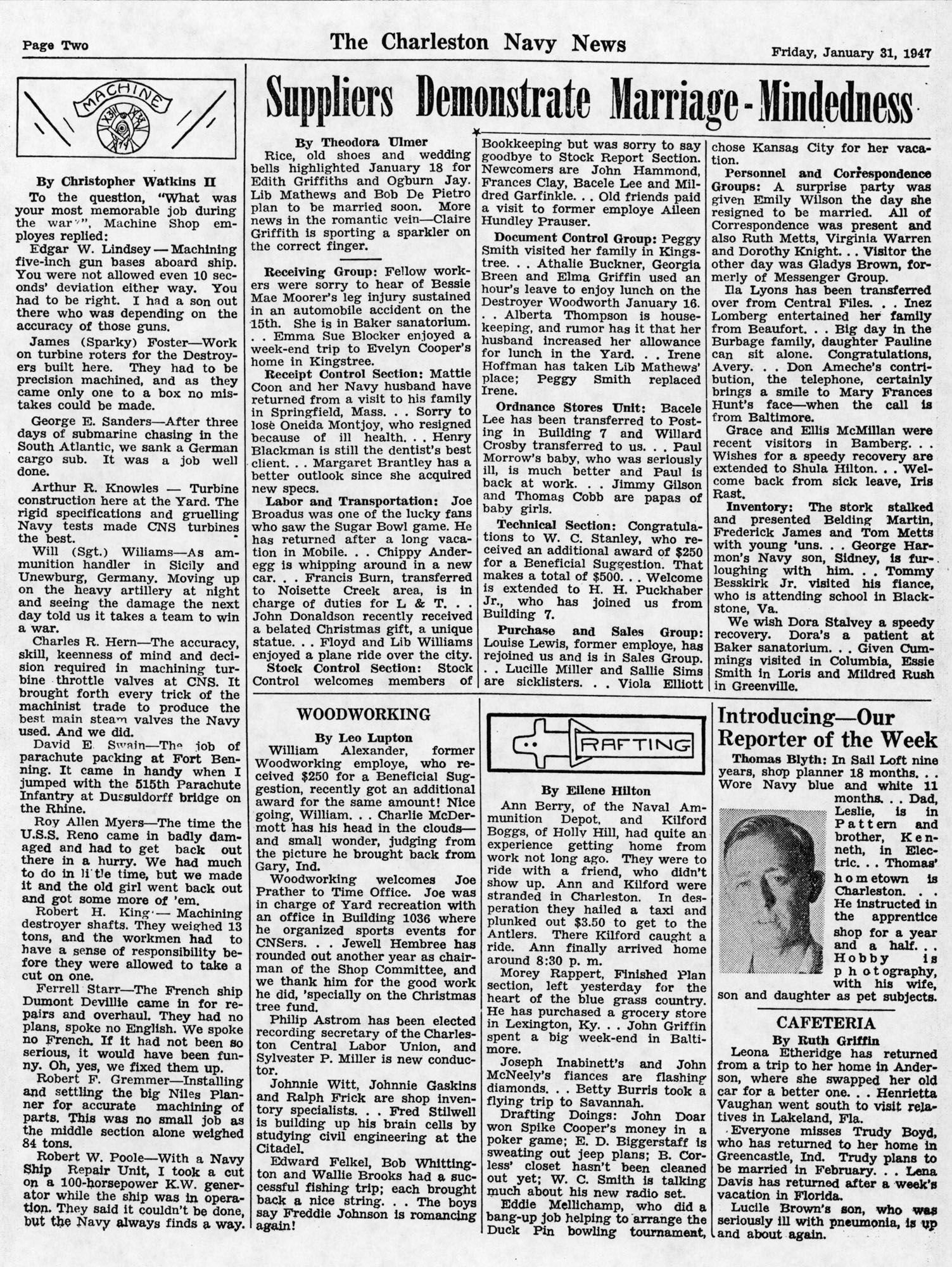 The Charleston Navy News, Volume 5, Edition 13, page ii