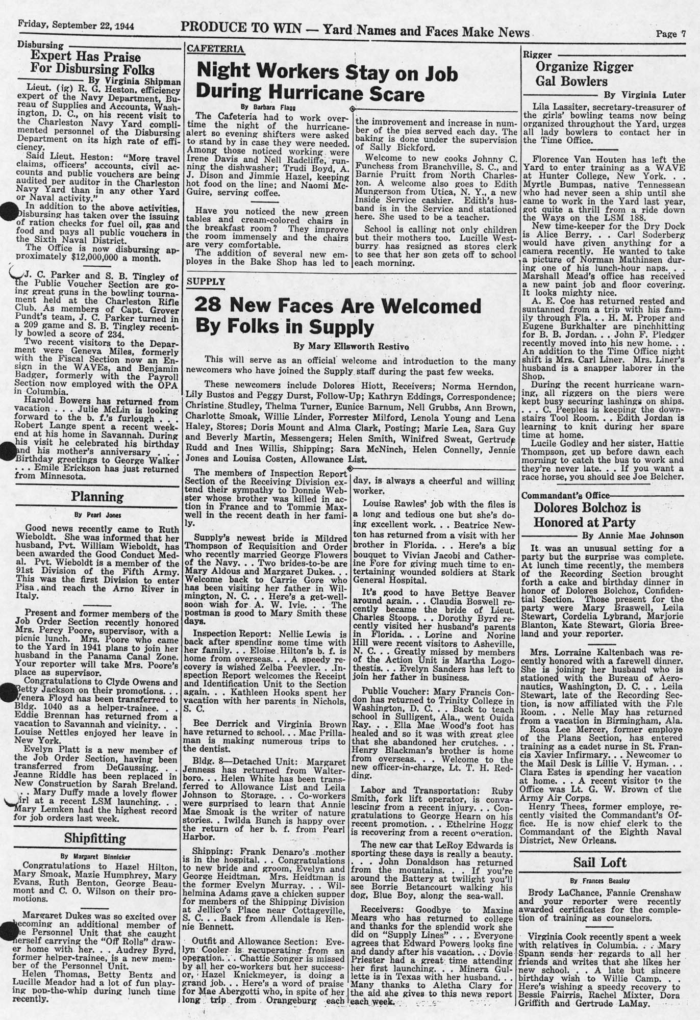 Produce to Win!, Volume 3, Edition 8, page vii