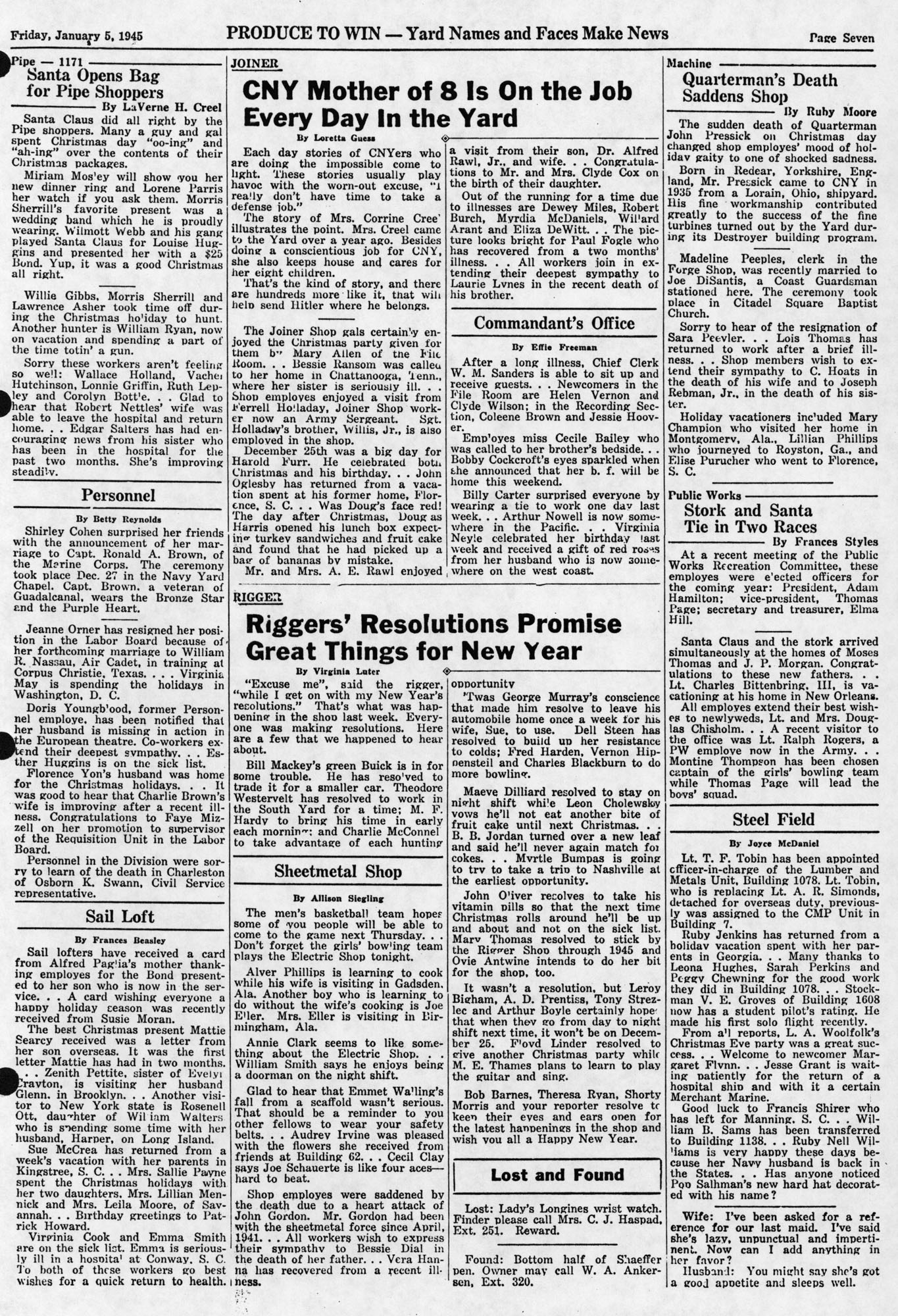 Produce to Win!, Volume 3, Edition 23, page vii
