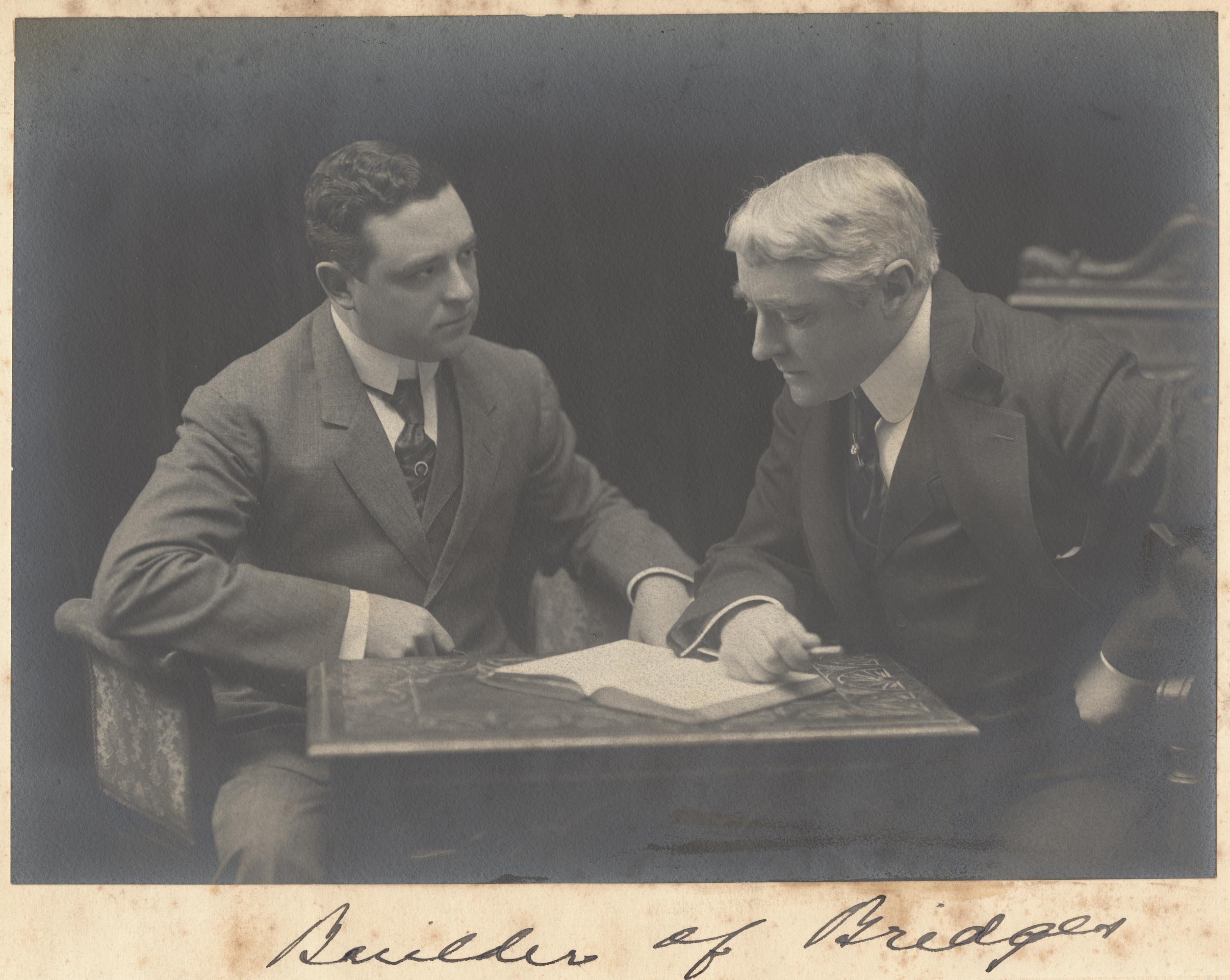 Frank Connor and Kyrle Bellew