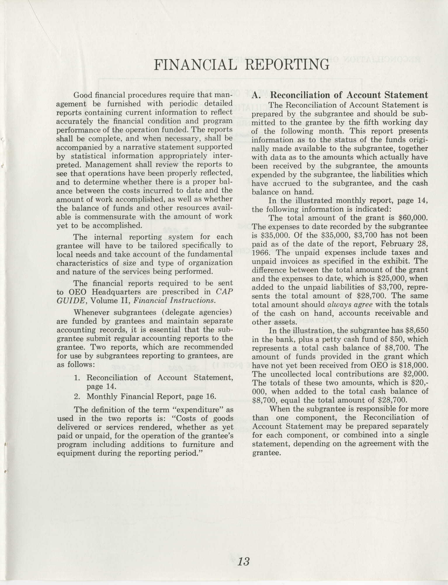 Guide for Grantee Accounting, Page 13