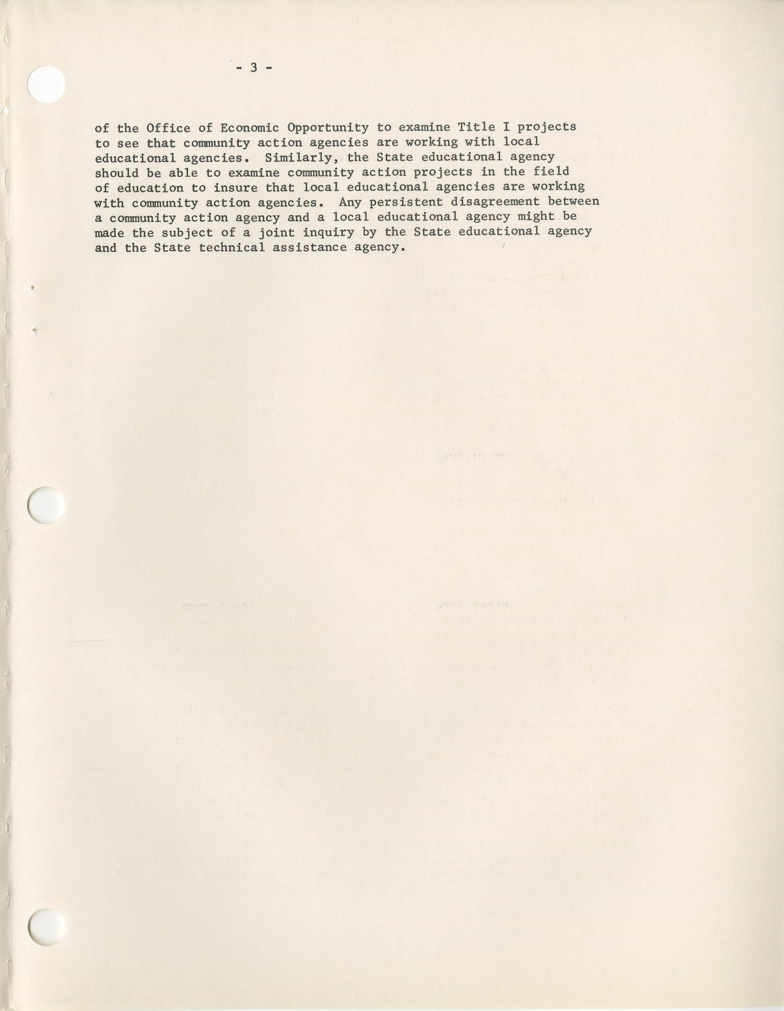 Community Action Program Memorandum No. 27, Exhibit 1 Page 3