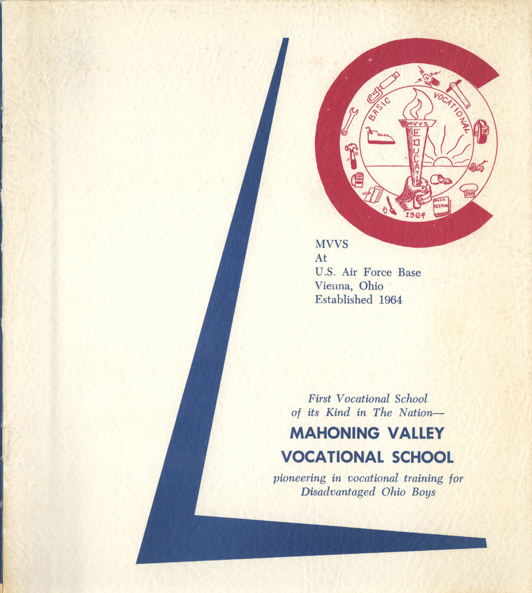 Mahoning Valley Vocational School Pamphlet, Front Cover Exterior