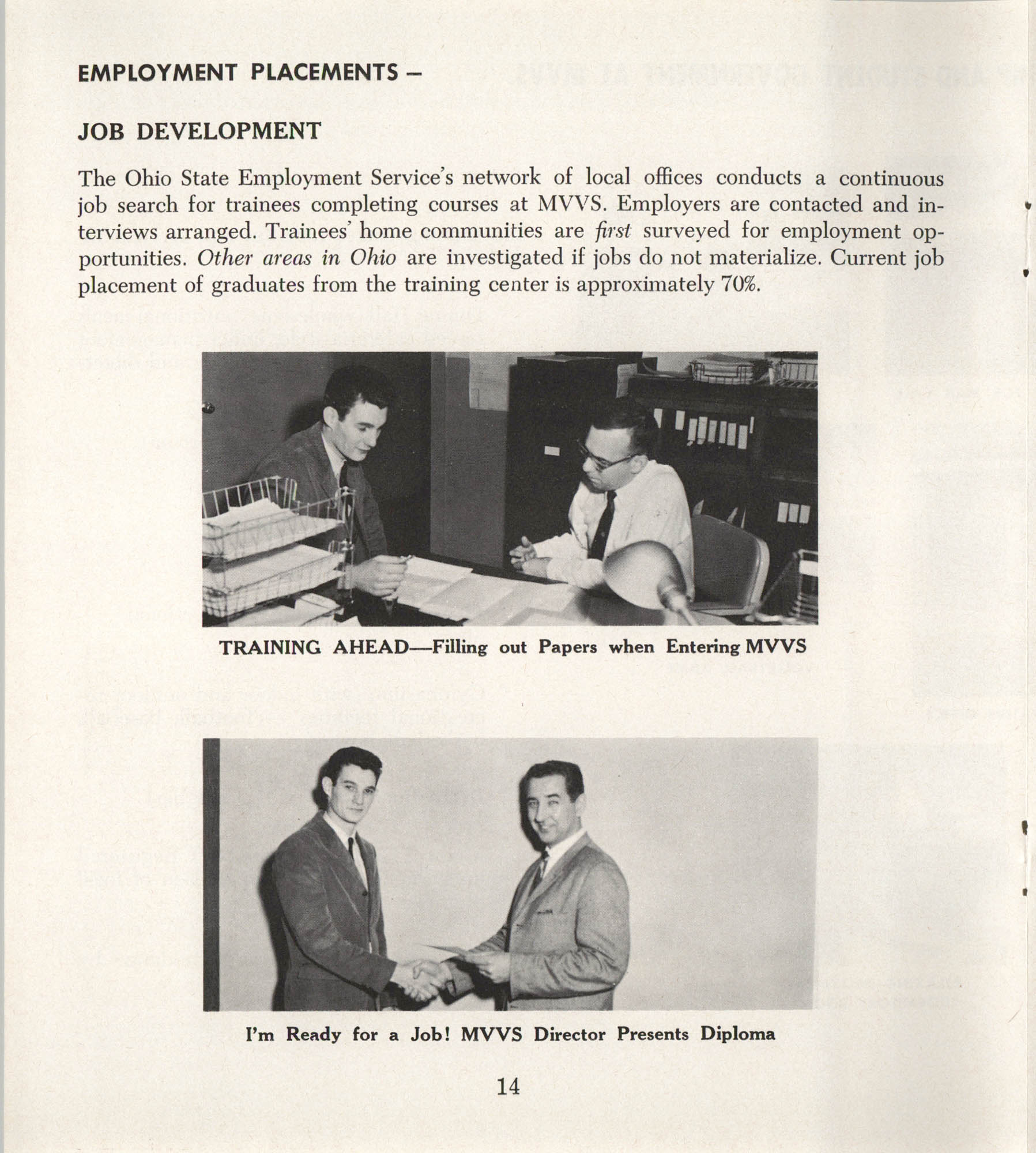 Mahoning Valley Vocational School Pamphlet, Page 14