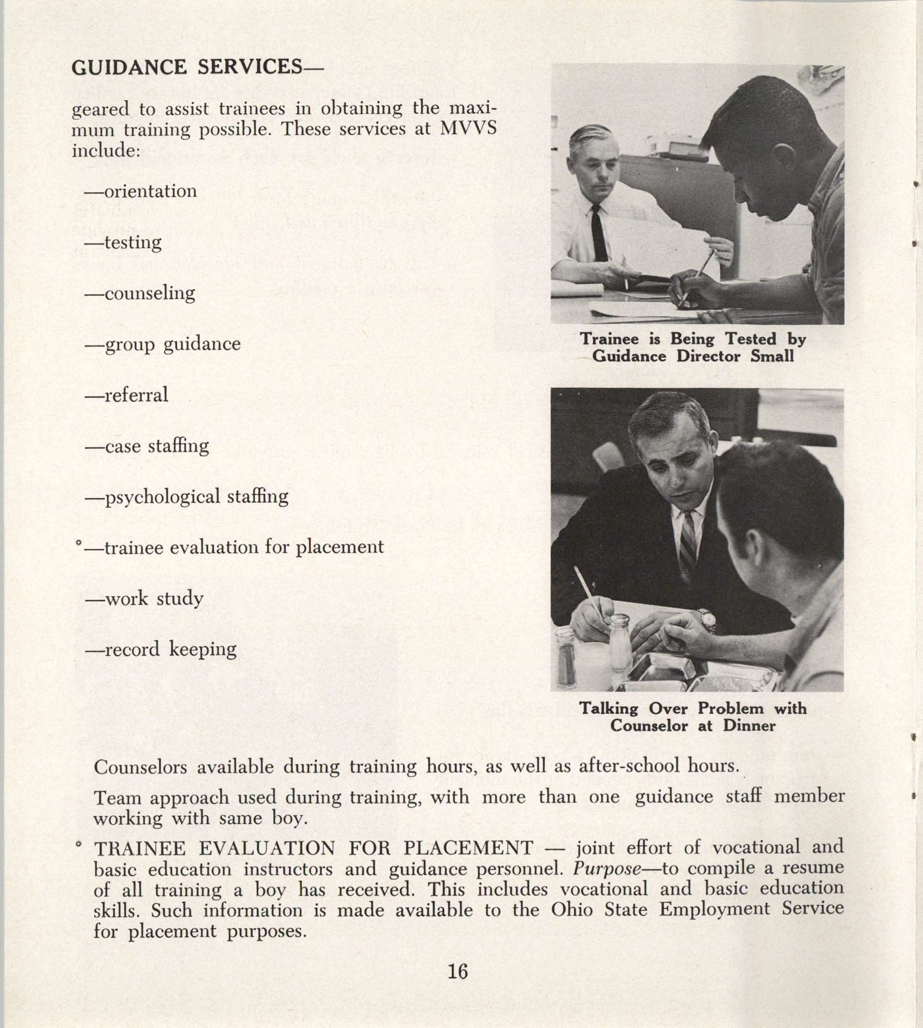 Mahoning Valley Vocational School Pamphlet, Page 16