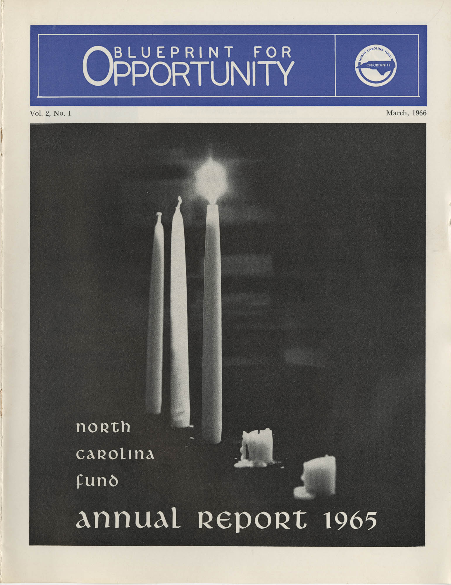 Blueprint for Opportunity, Vol. 2, No. 1, Cover