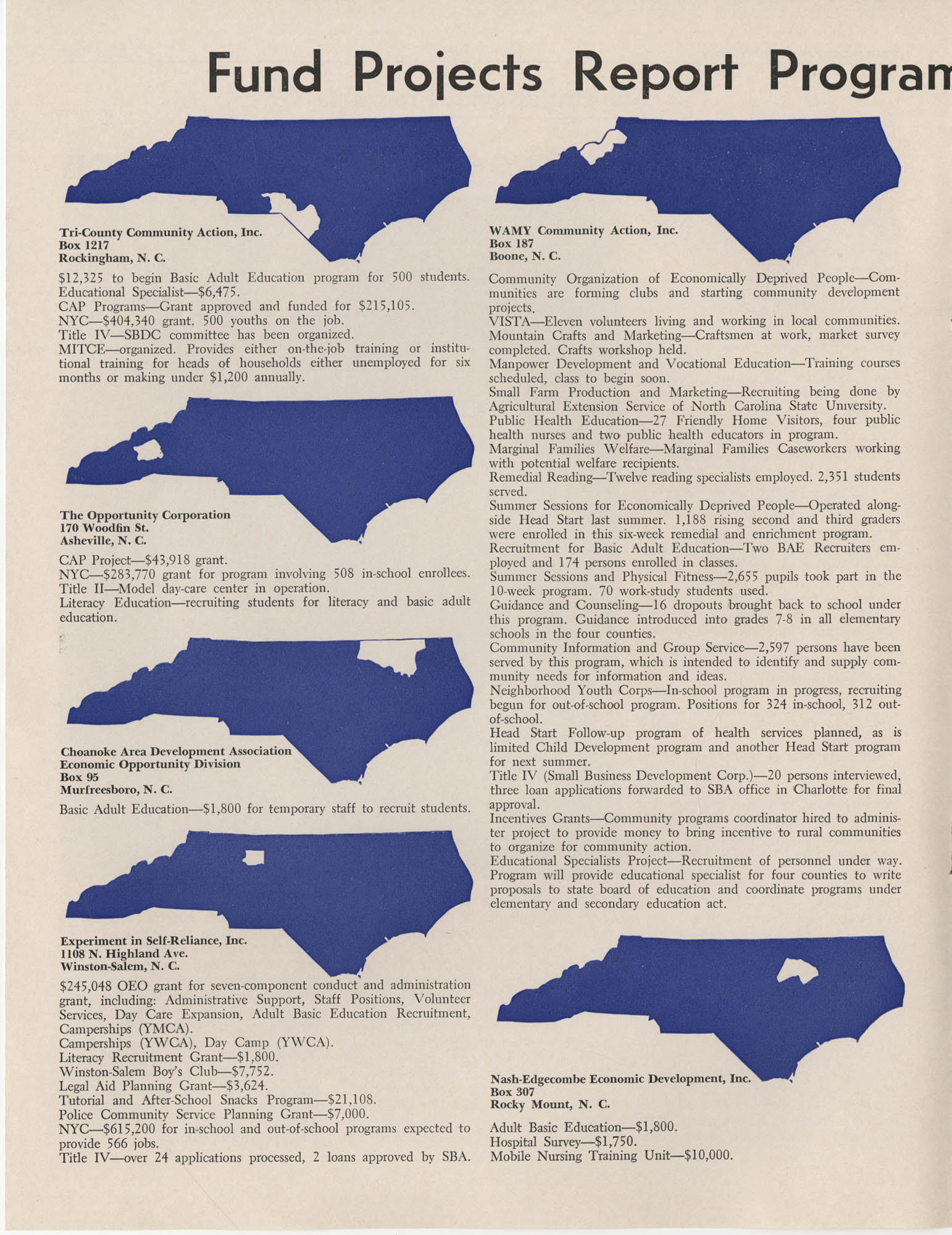 Blueprint for Opportunity, Vol. 2, No. 1, Page 10