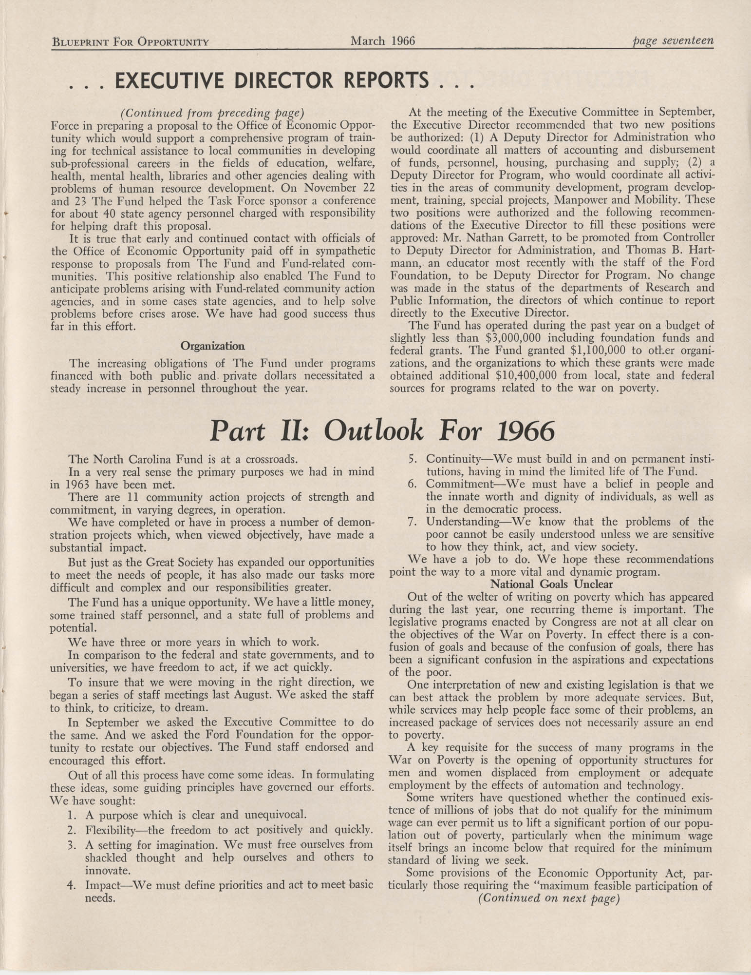 Blueprint for Opportunity, Vol. 2, No. 1, Page 17