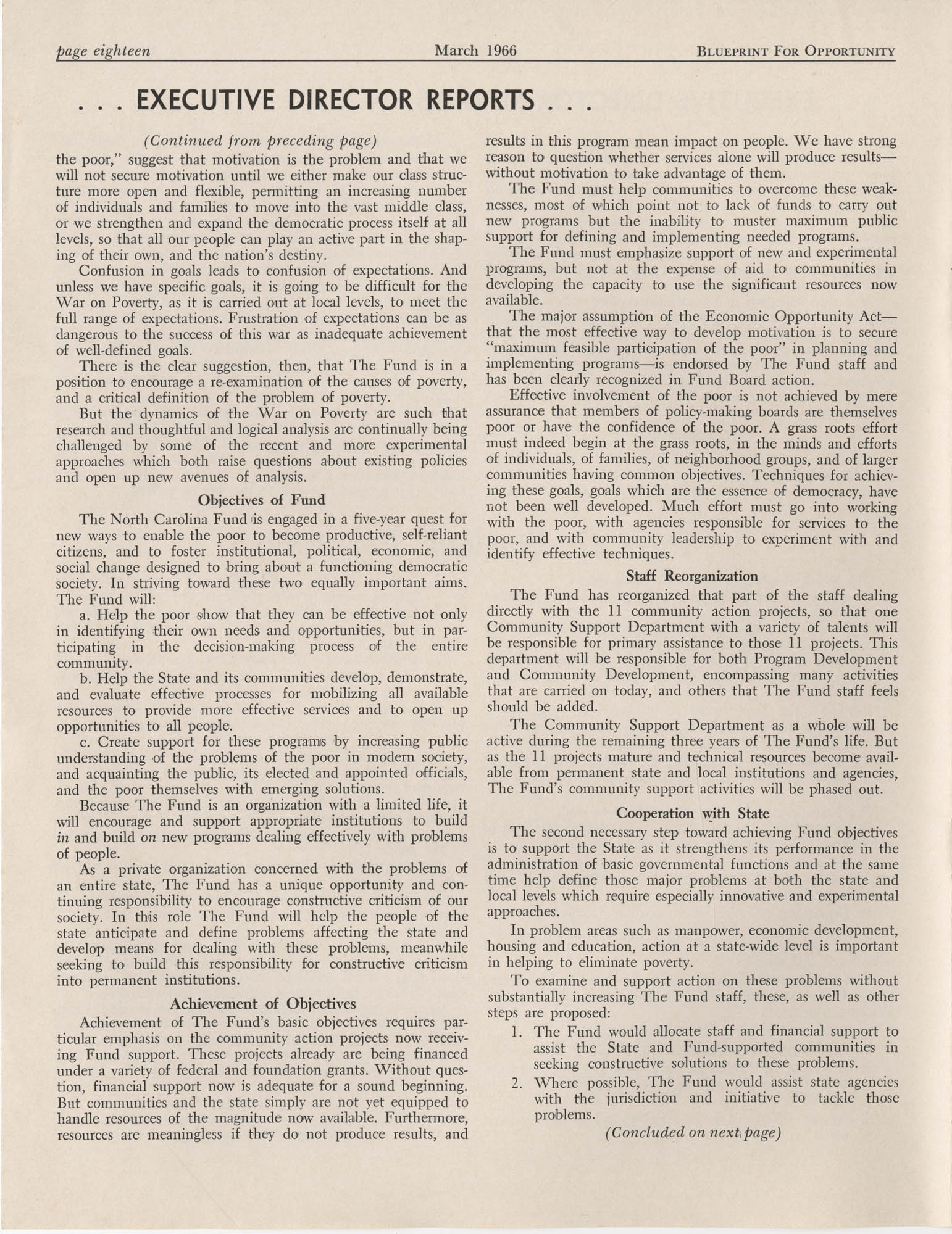 Blueprint for Opportunity, Vol. 2, No. 1, Page 18