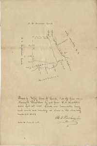 Newington Plantation Plat 1845