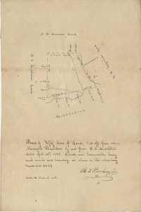 Newington Plantation Plat 1845