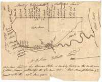 St. Andrew's Parish Plat 1711