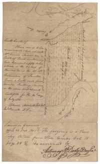 Santee River Plat 1801