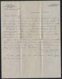 Letter from Warren Hubert Moise to Edwin Warren Moise, June 15, 1933