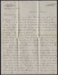 Letter from Warren Hubert Moise to Edwin Warren Moise, June 5, 1933
