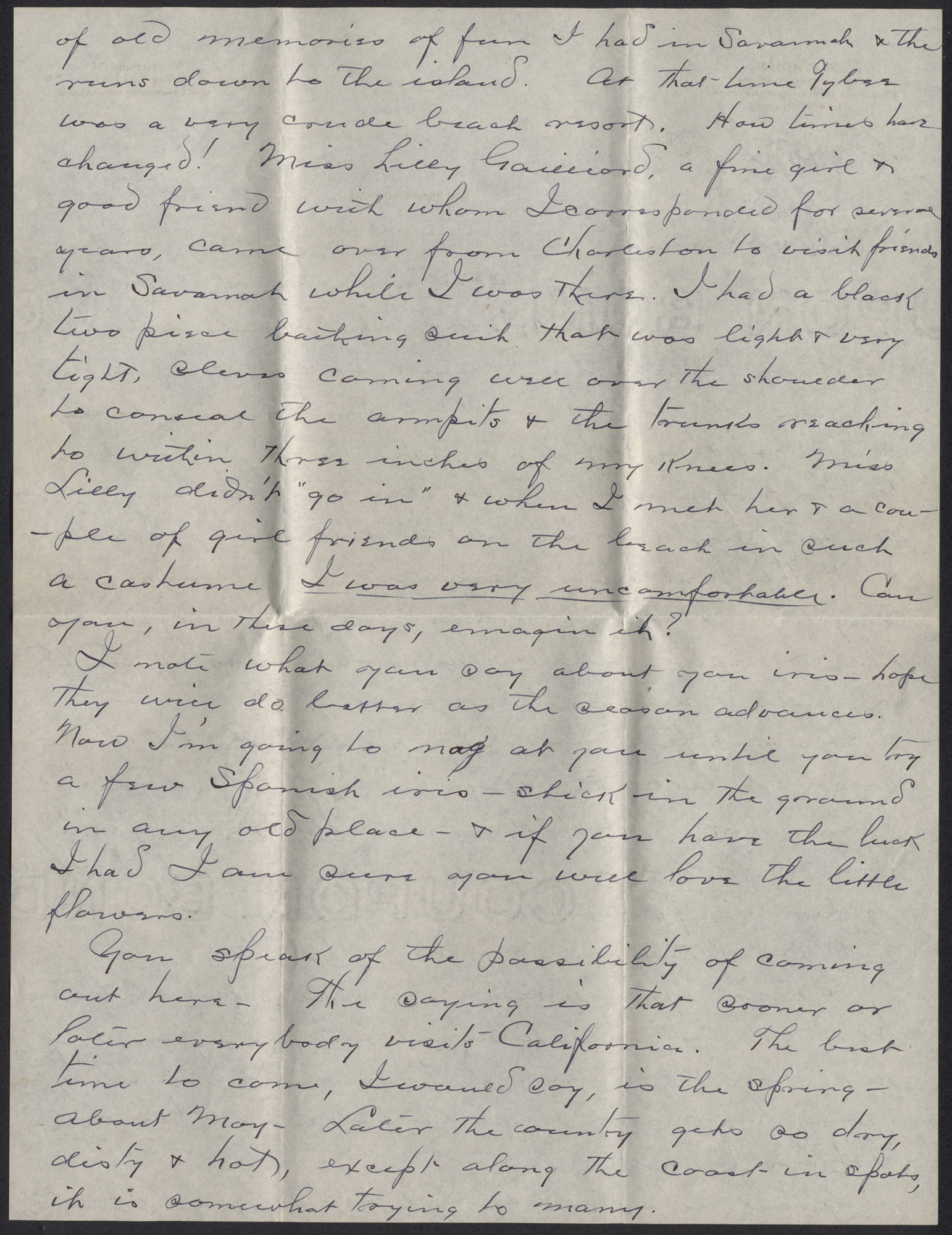 Letters from Warren Hubert Moise to Edwin Warren Moise, Page 2